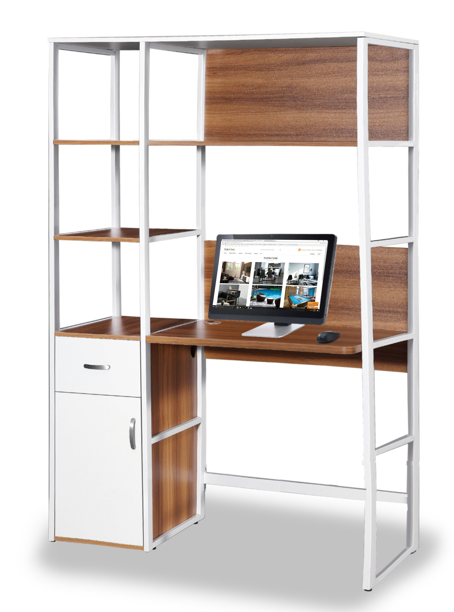 Cadell Study Desk With Storage