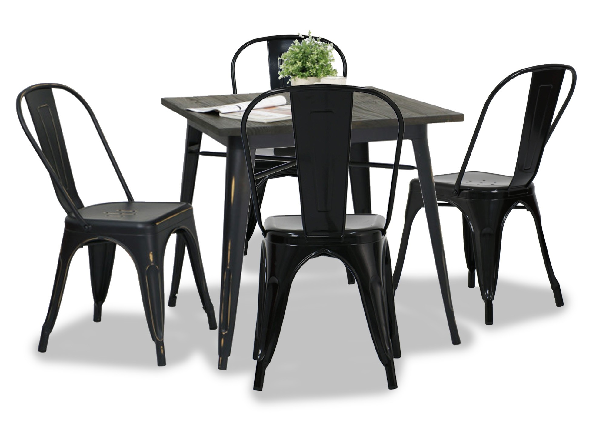 Modus Metal Dining Table Antique Black Dining Set 14  : 0139 from www.fortytwo.sg size 2000 x 1435 jpeg 208kB