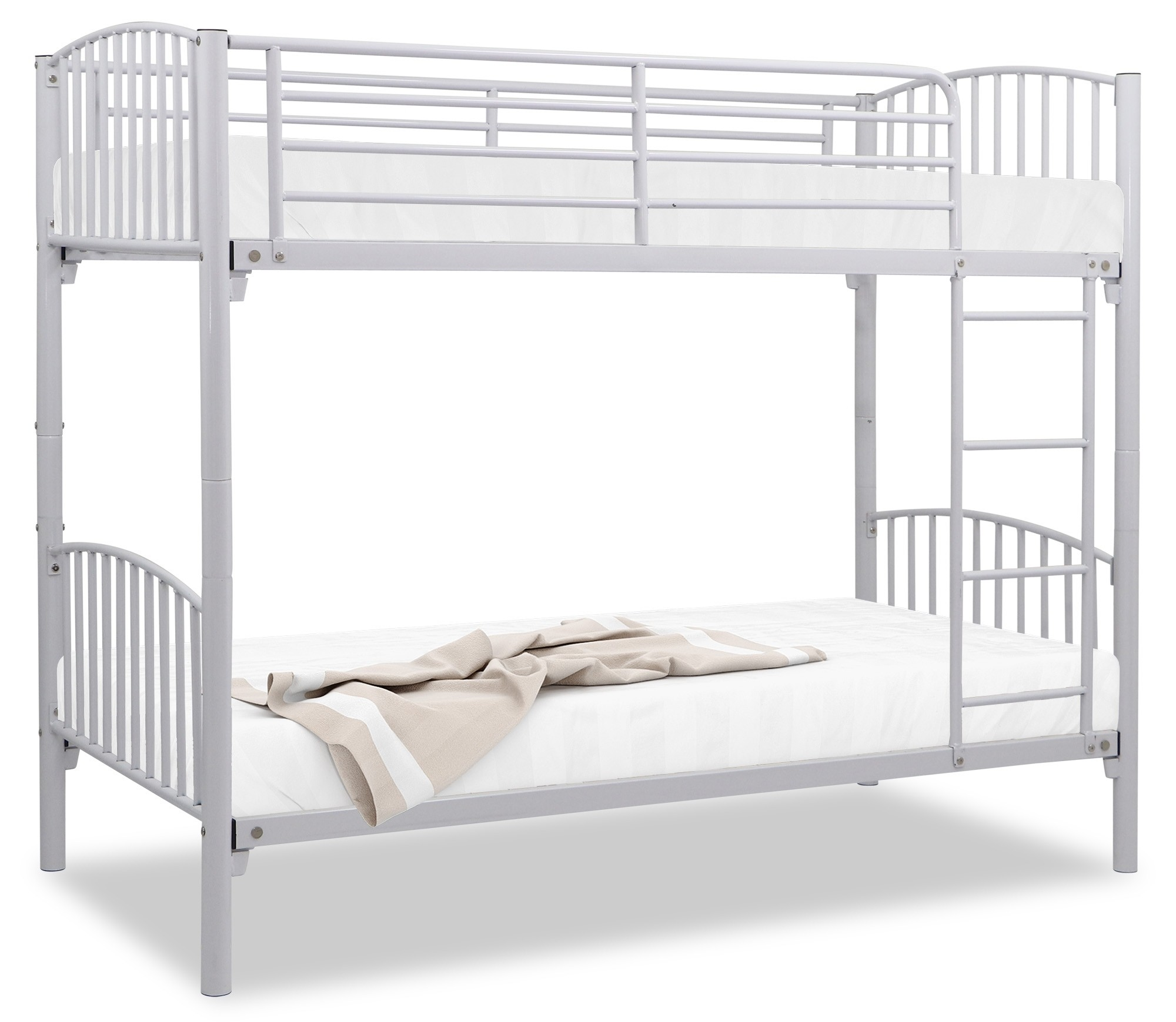Gerald Metal Single Size Double Decker Bed
