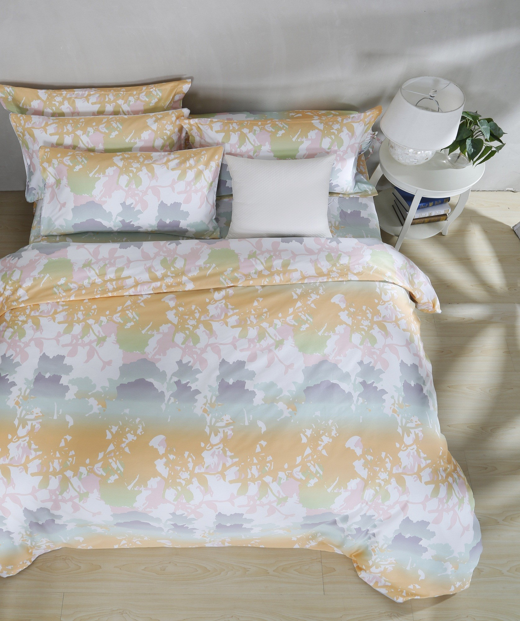 brooks fitted sheet set queen furniture home d cor fortytwo. Black Bedroom Furniture Sets. Home Design Ideas