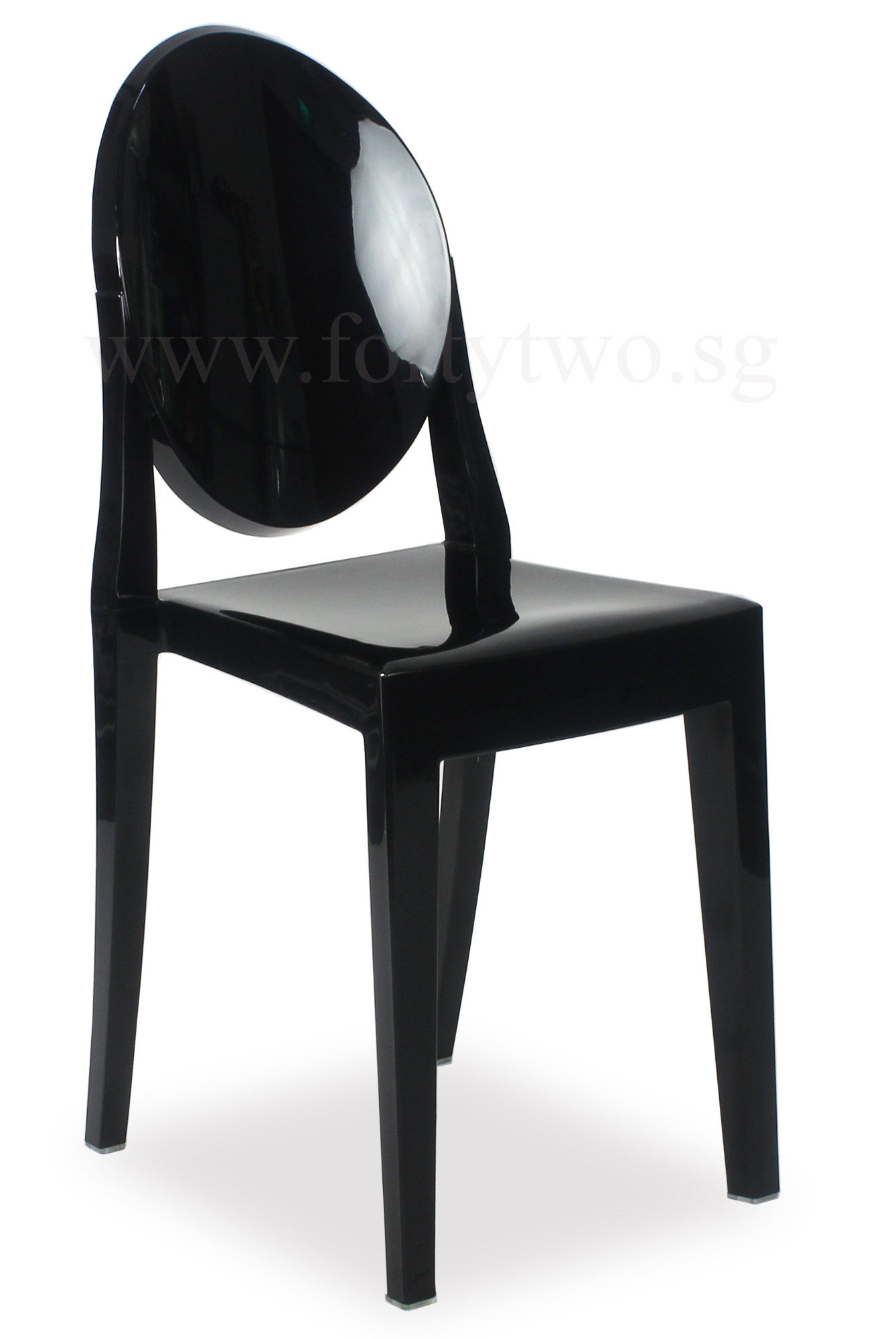 Black ghost chair best home design 2018 for Imitation designer chairs