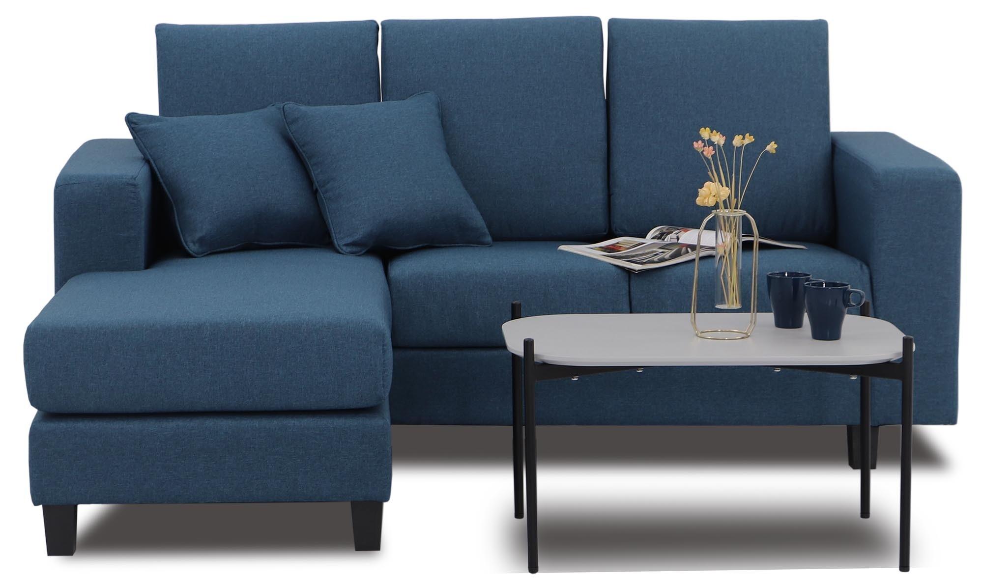 Homer Fabric L Shaped Sofa Furniture