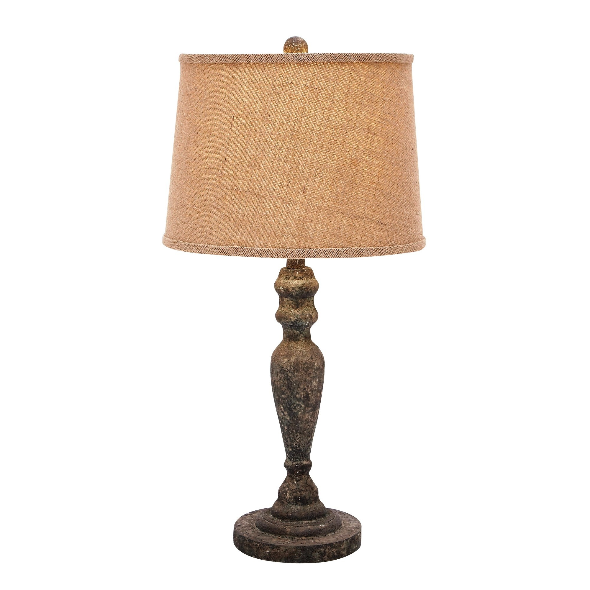 Woodland Imports Clic Solid Wooden Table Lamp 85981