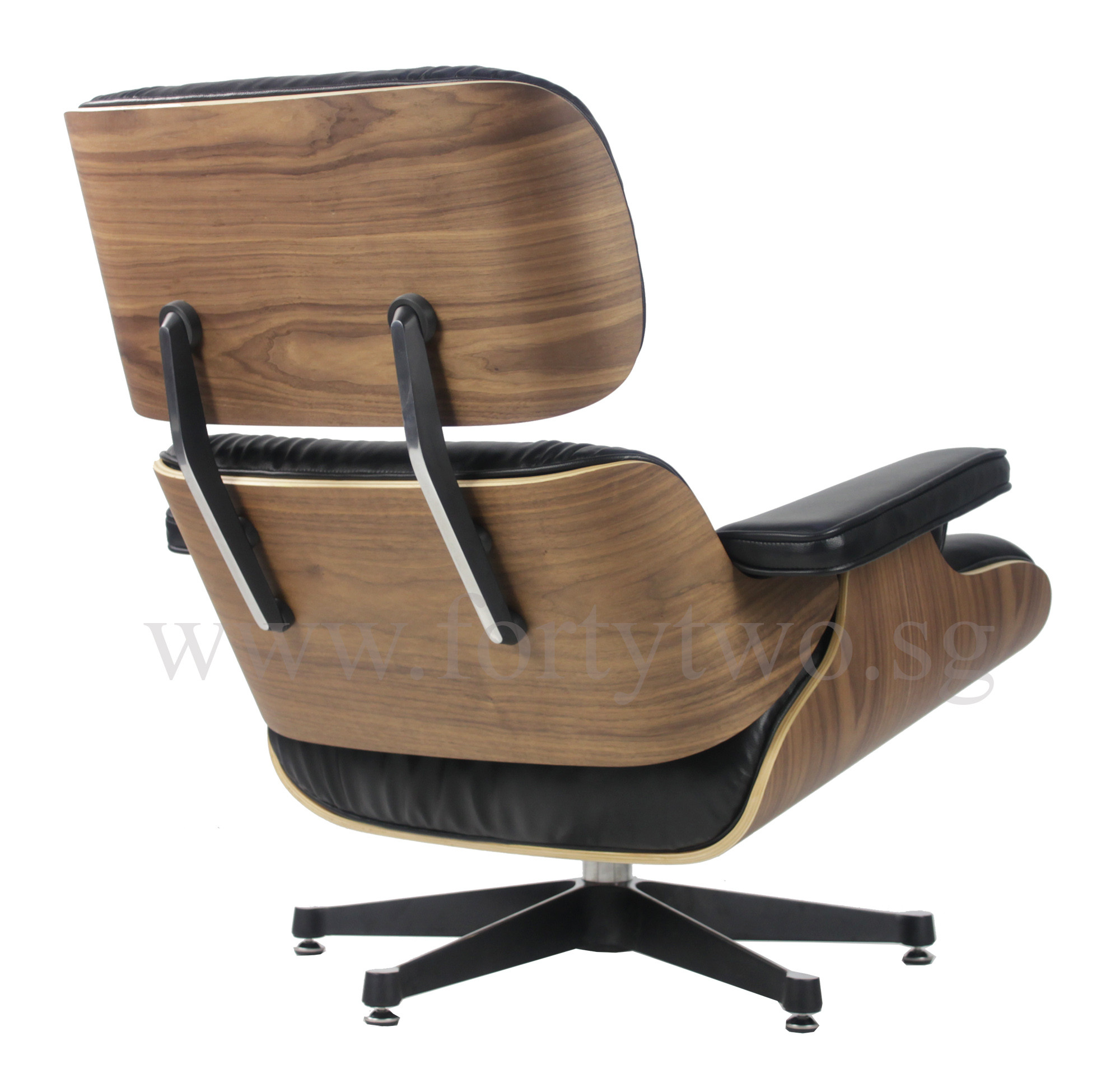 Designer Replica Eames Lounge Chair Black