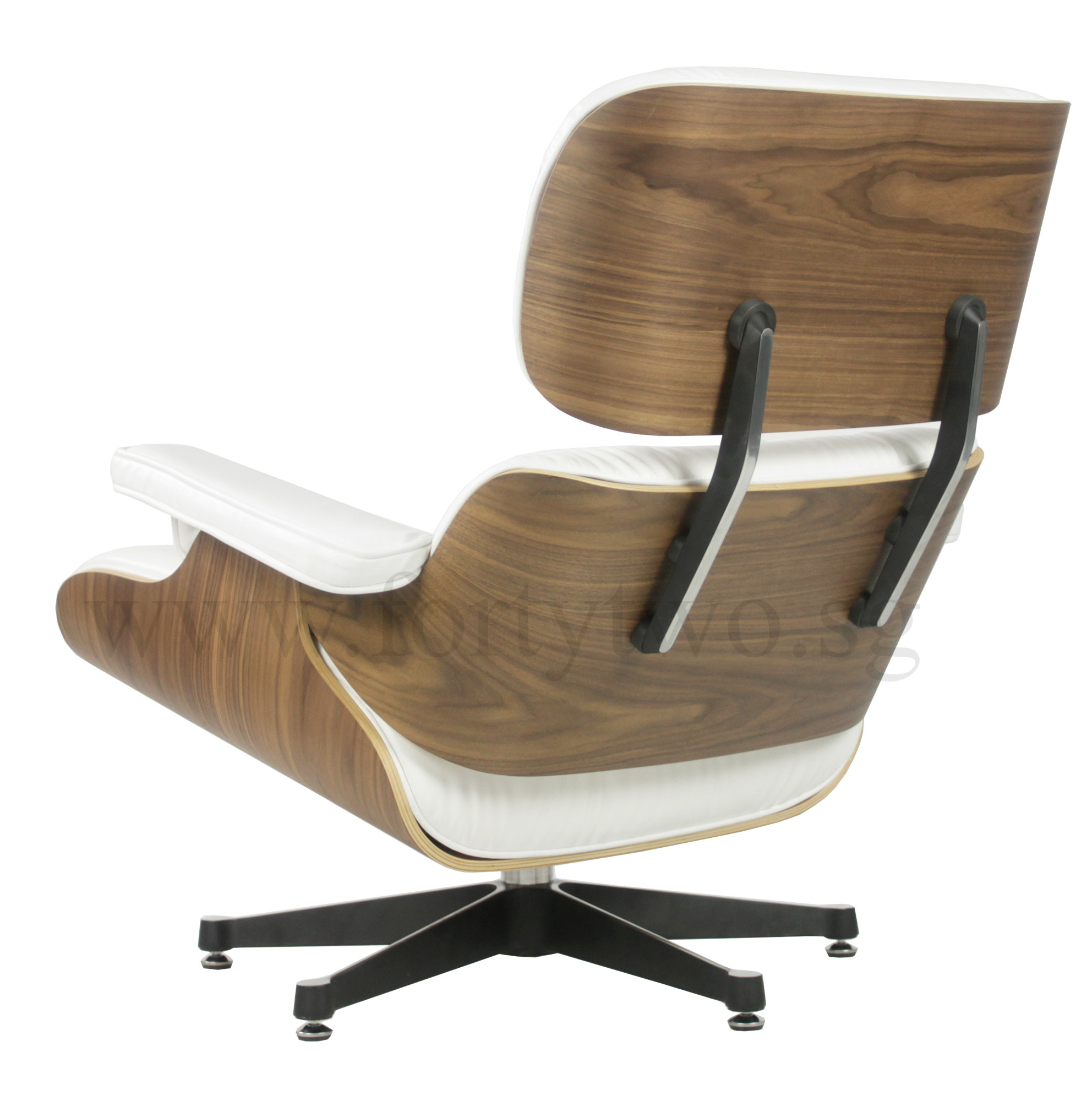 Designer replica eames lounge chair white furniture for Eames chair replica deutschland