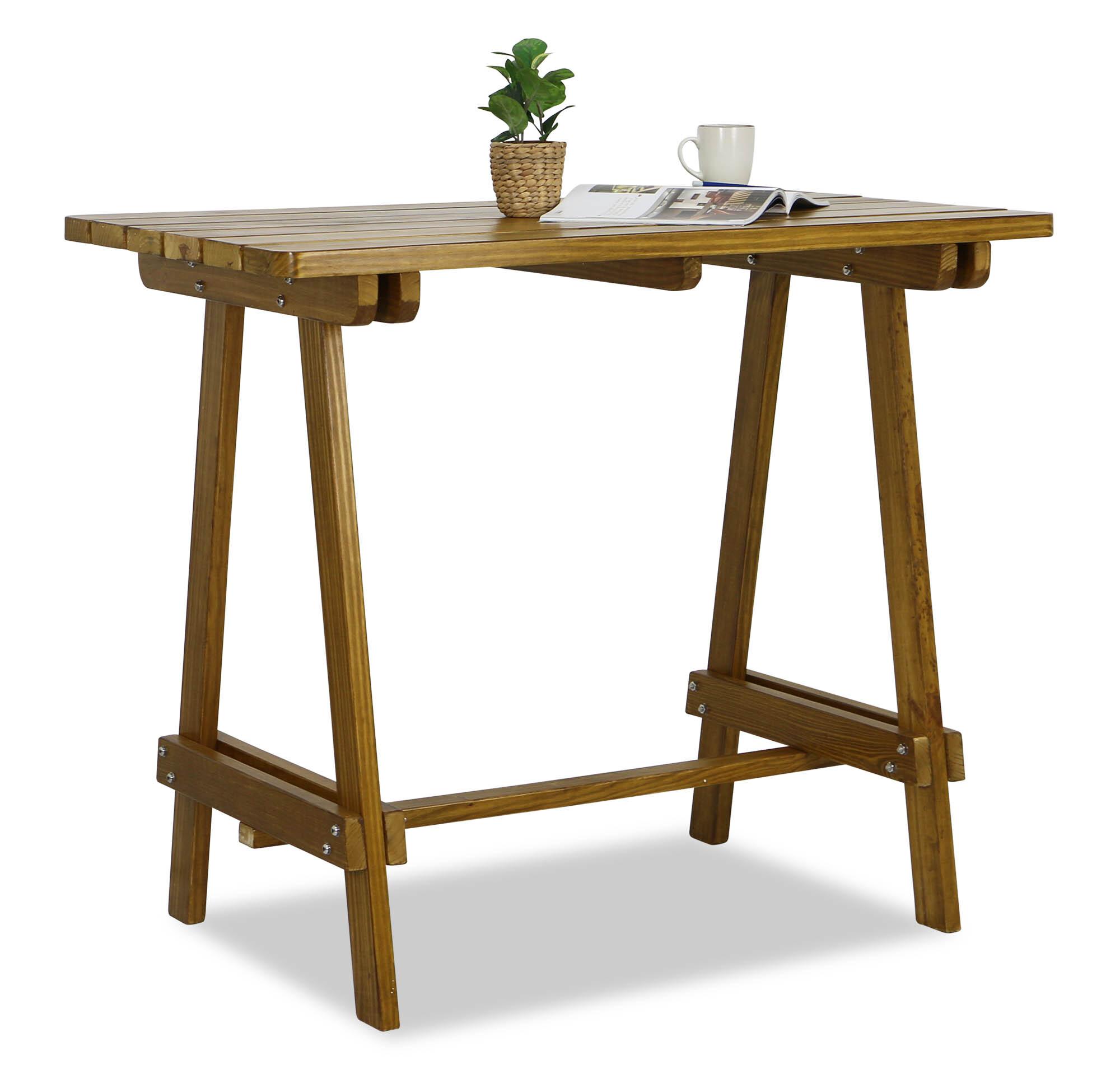 apache wooden bar table - Wooden Bar Table