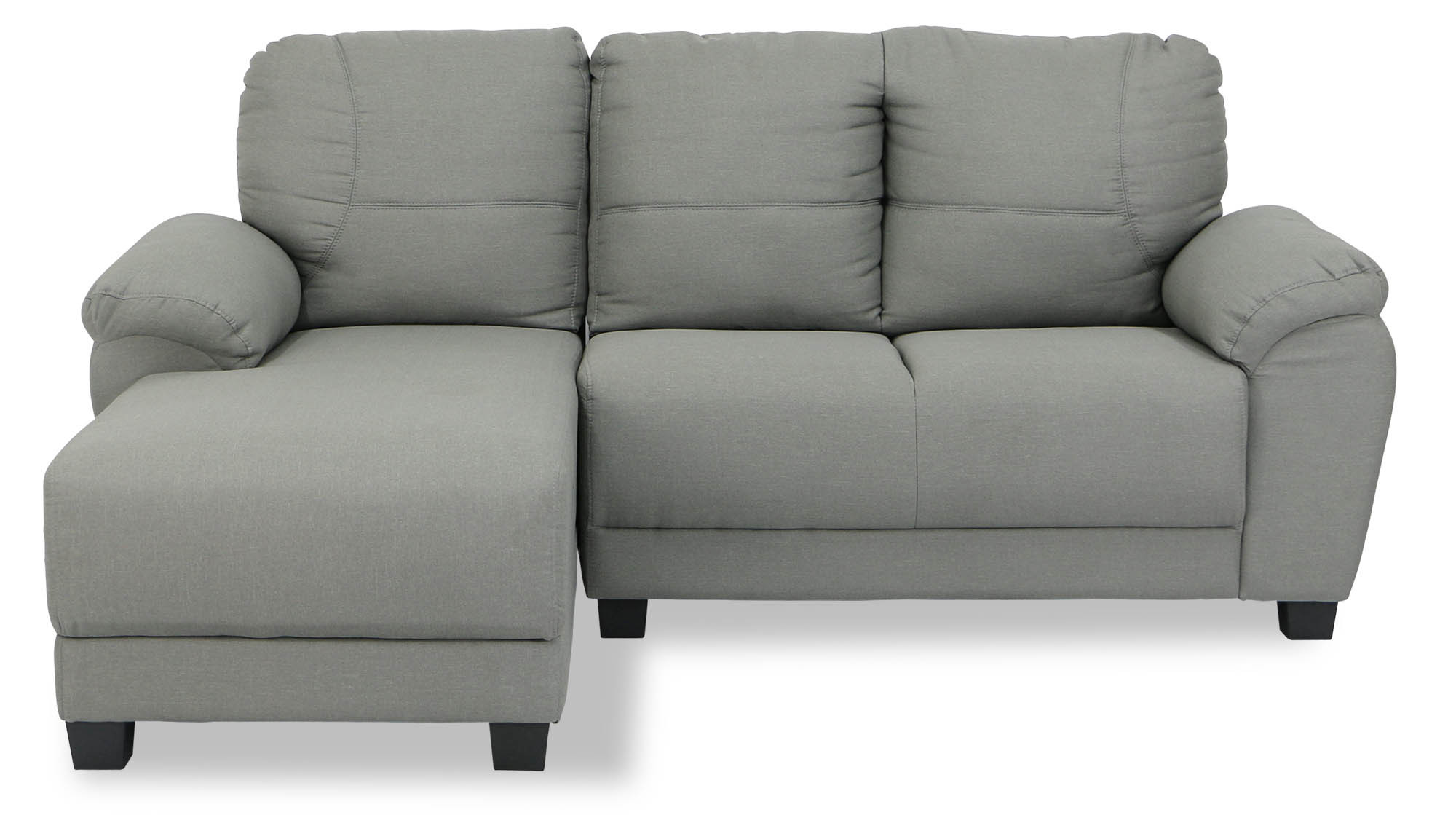 Abner Fabric L Shaped Sofa