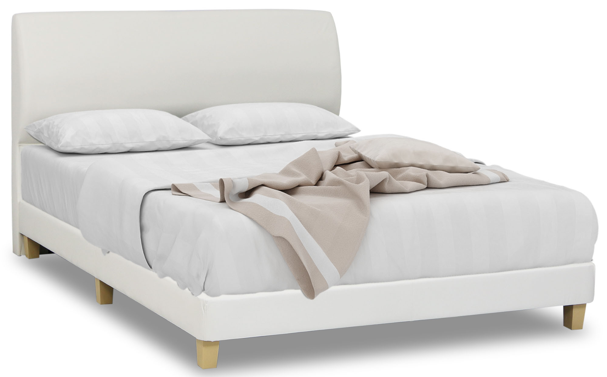 Aldo Faux Leather Bed Frame Furniture & Home Décor