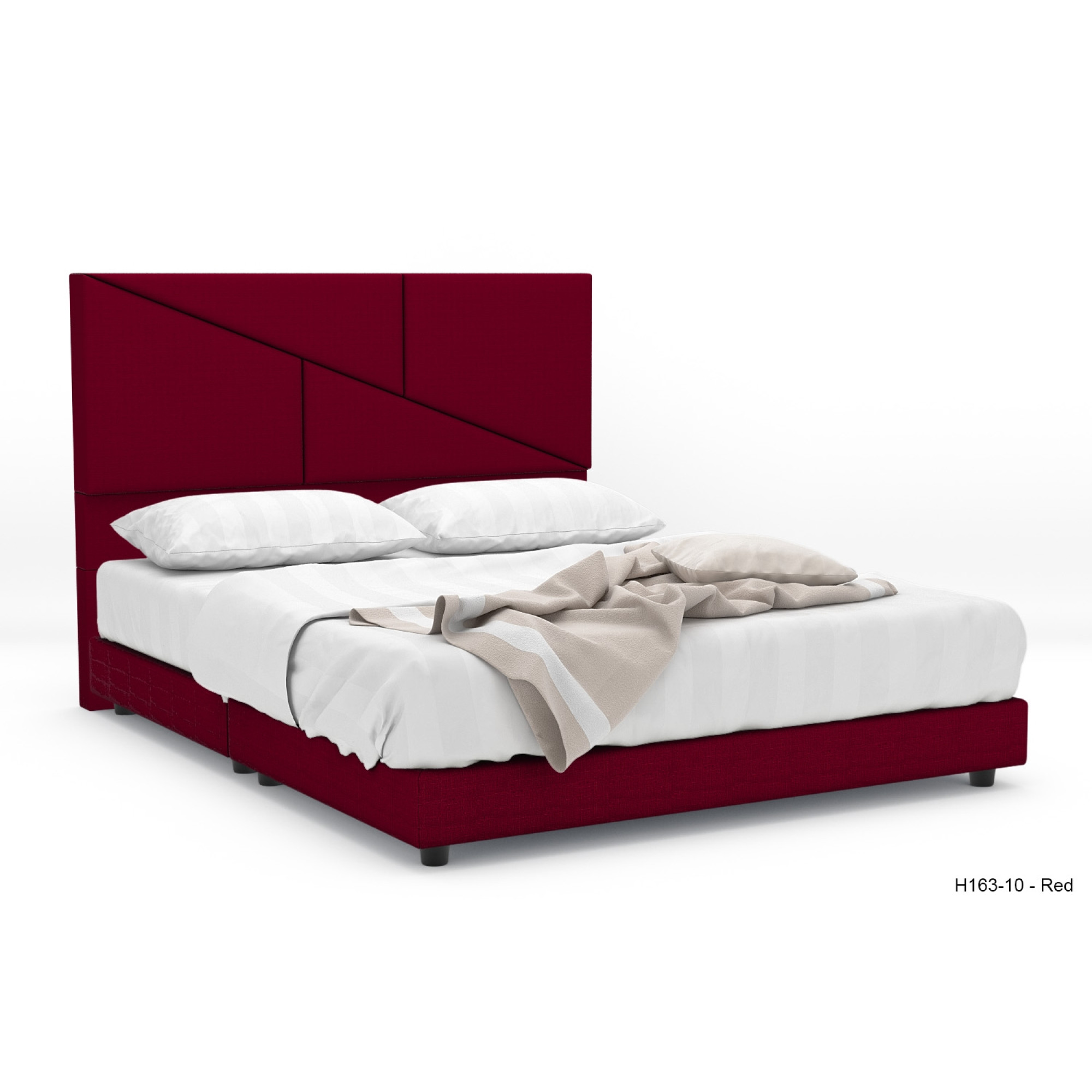 Loyd Fabric Bed Frame (Queen) | Furniture & Home Décor | FortyTwo