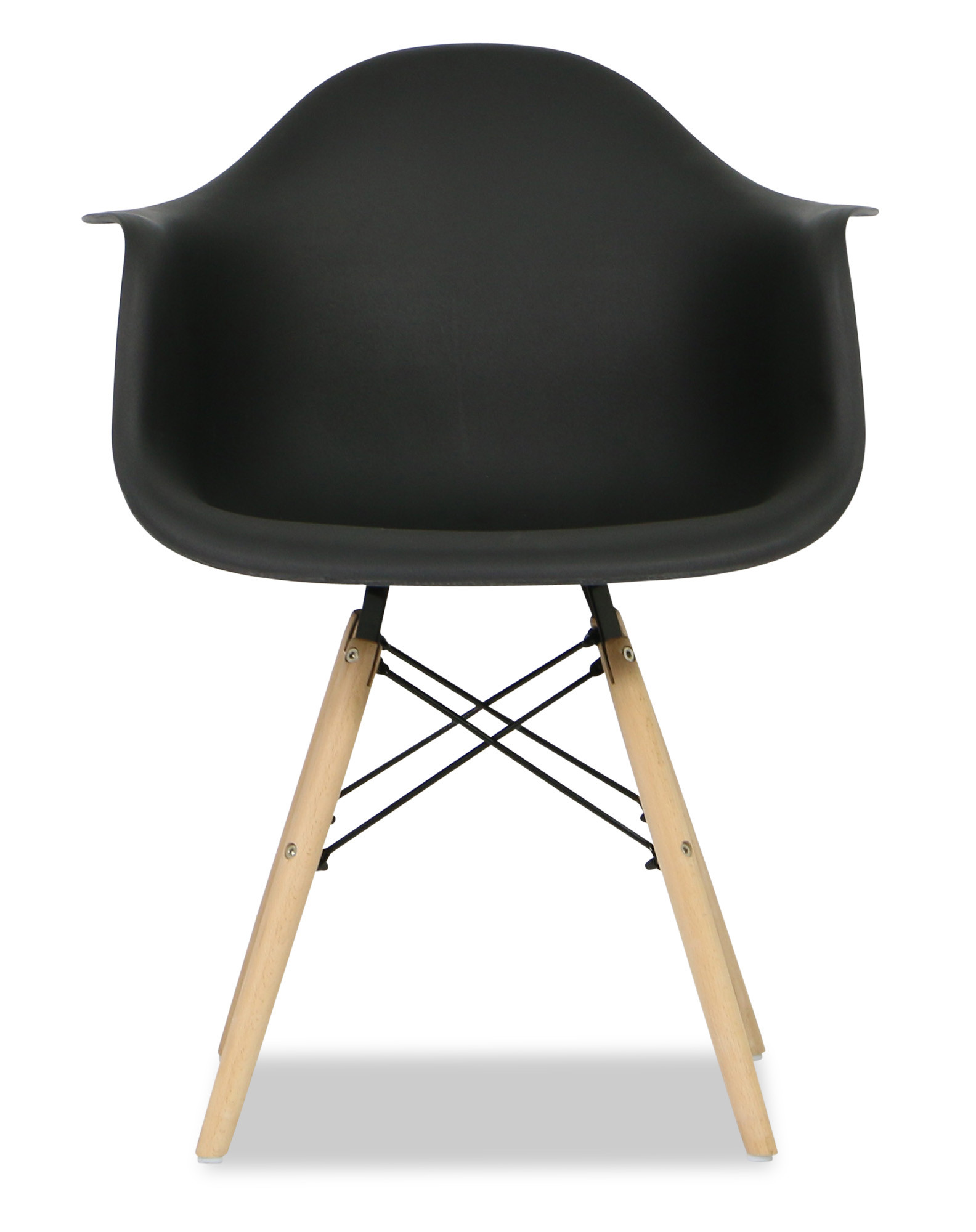 Eames replica designer arm chair black armchairs for Imitation designer chairs