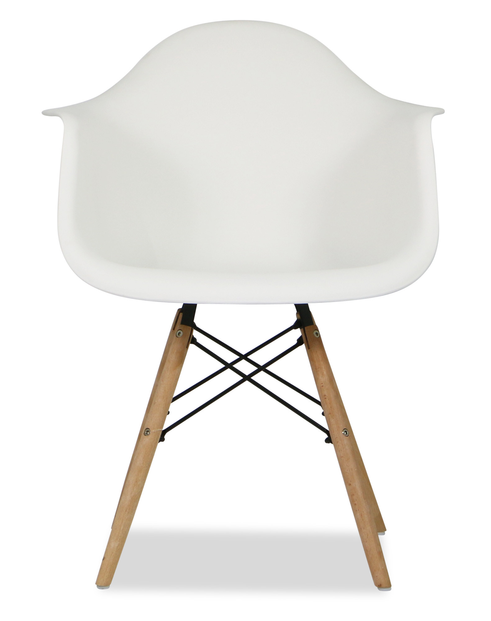 eames replica designer arm chair white armchairs accent chairs seating furniture. Black Bedroom Furniture Sets. Home Design Ideas