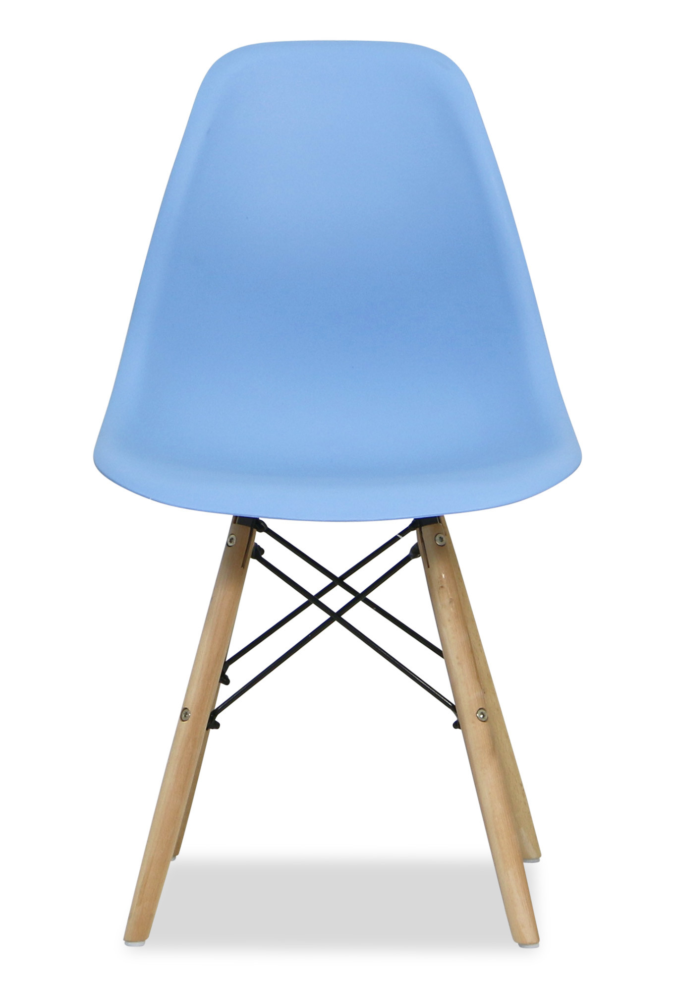 Eames baby blue replica designer chair dining room for Imitation designer chairs