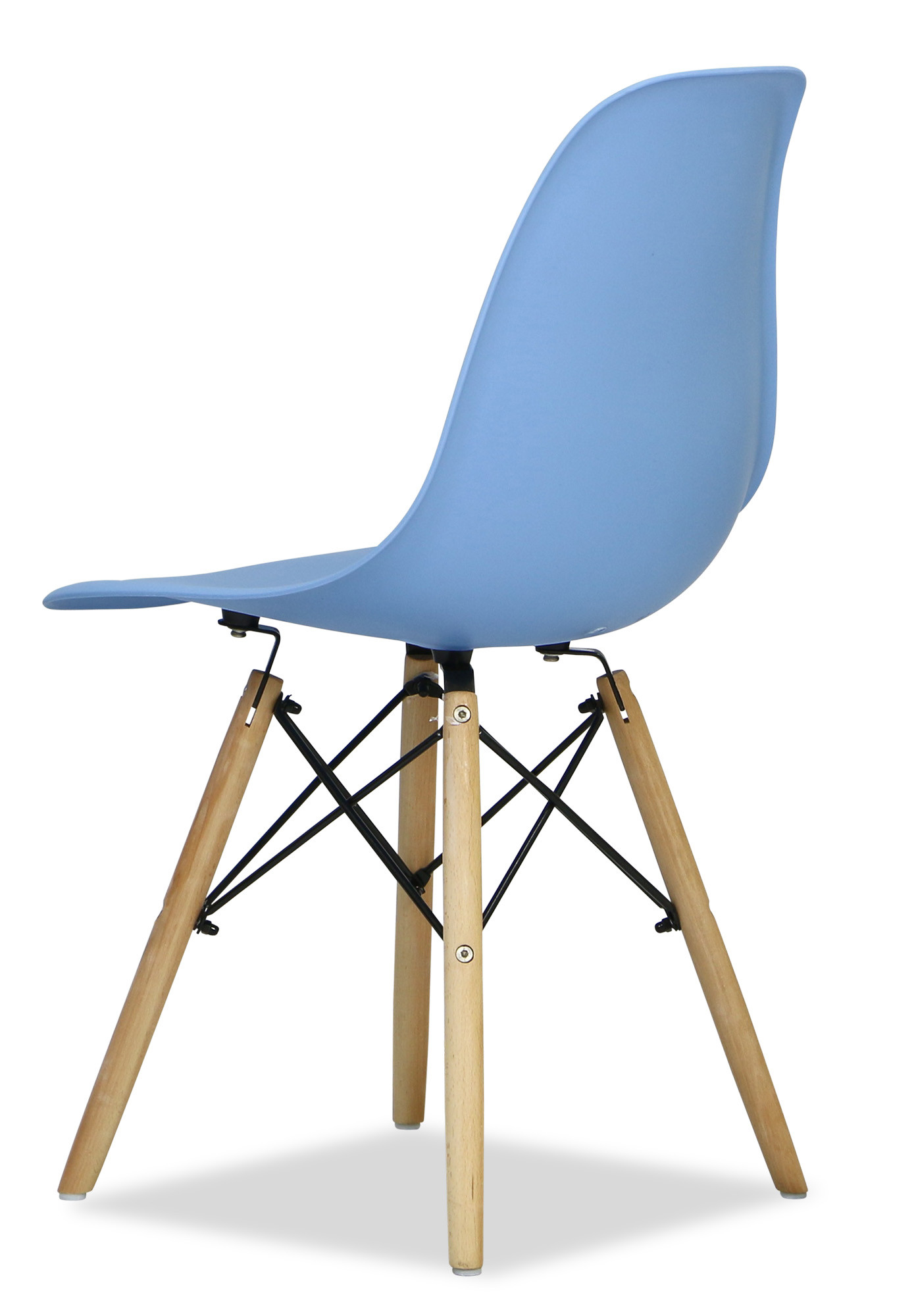 Eames baby blue replica designer chair dining chairs for Imitation designer chairs