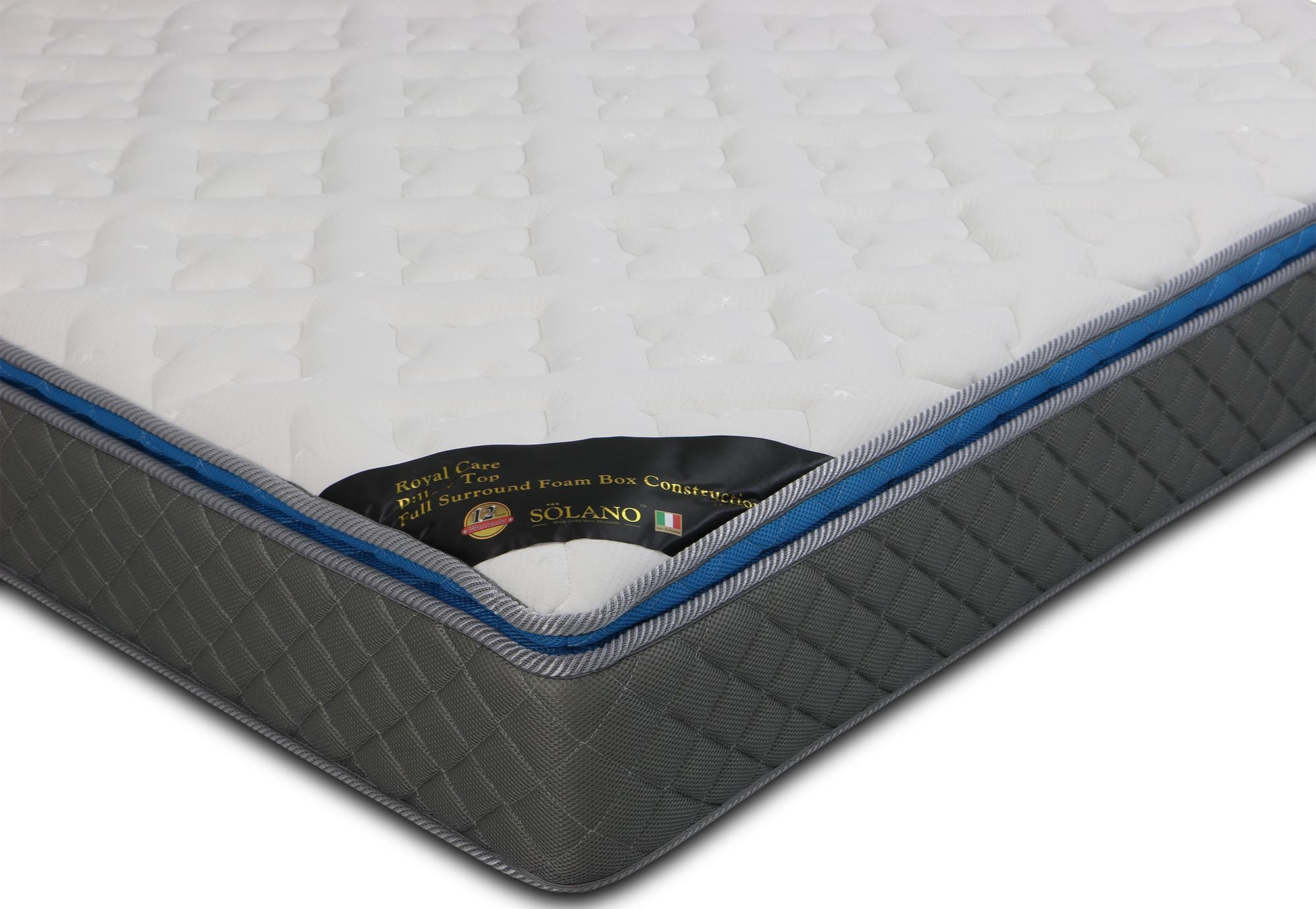 Mattresses Mattress Warehouse Clearance Outlet Solano Caruso Latex With Pocketed Spring King Size ...