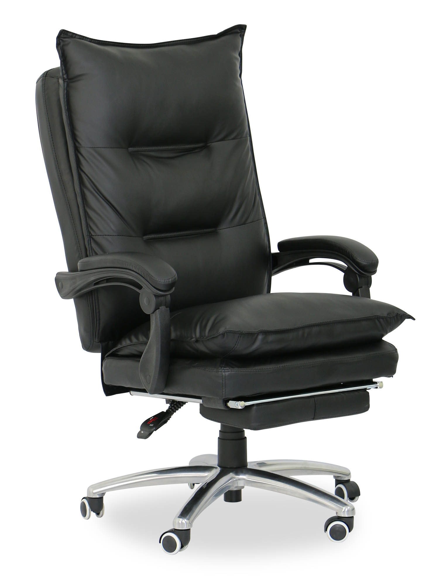 Executive Office Furniture: Deluxe Pu Executive Office Chair (Black)