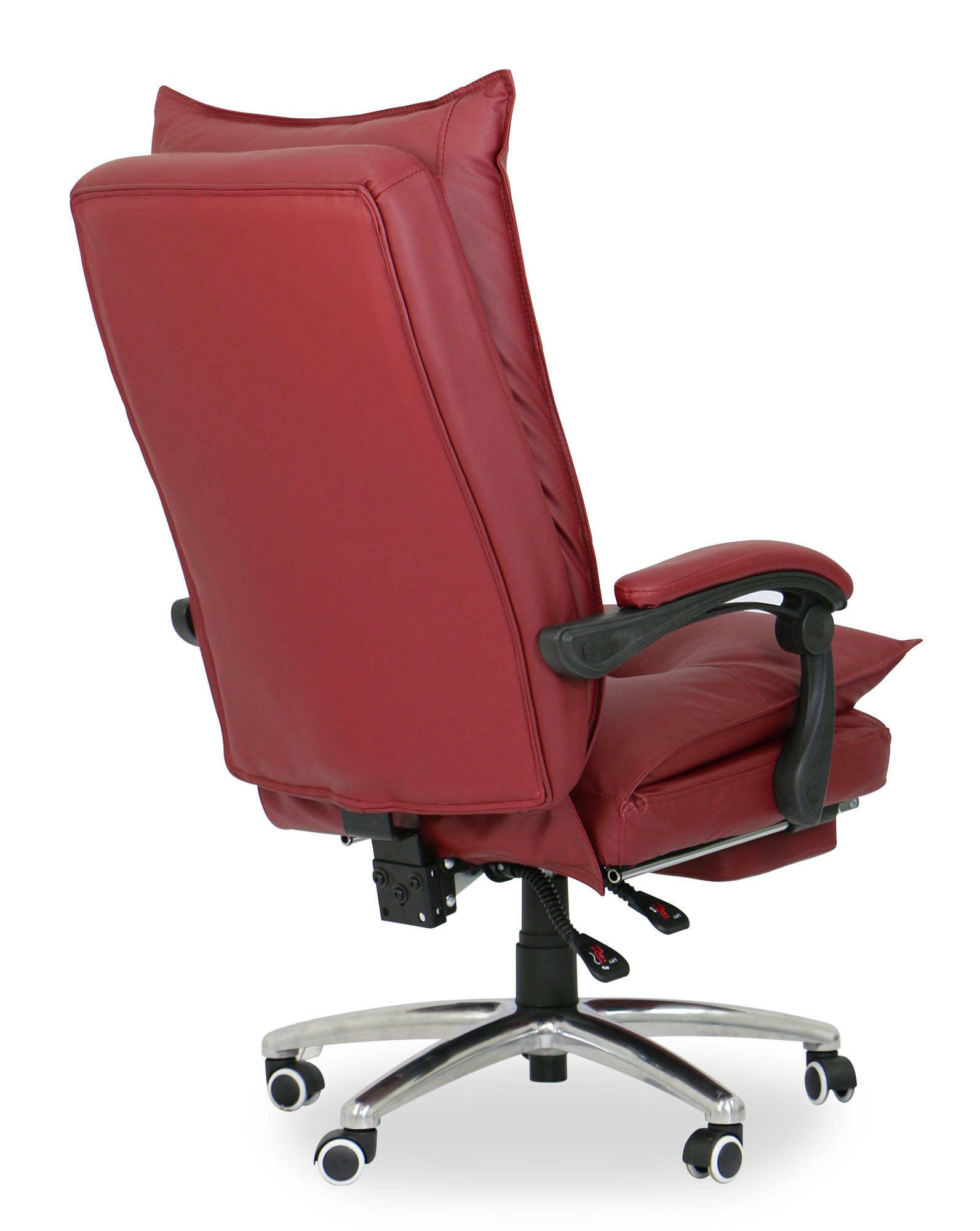 comfort office chair. Deluxe Pu Executive Office Chair (Maroon) | Furniture \u0026 Home Décor FortyTwo Comfort C