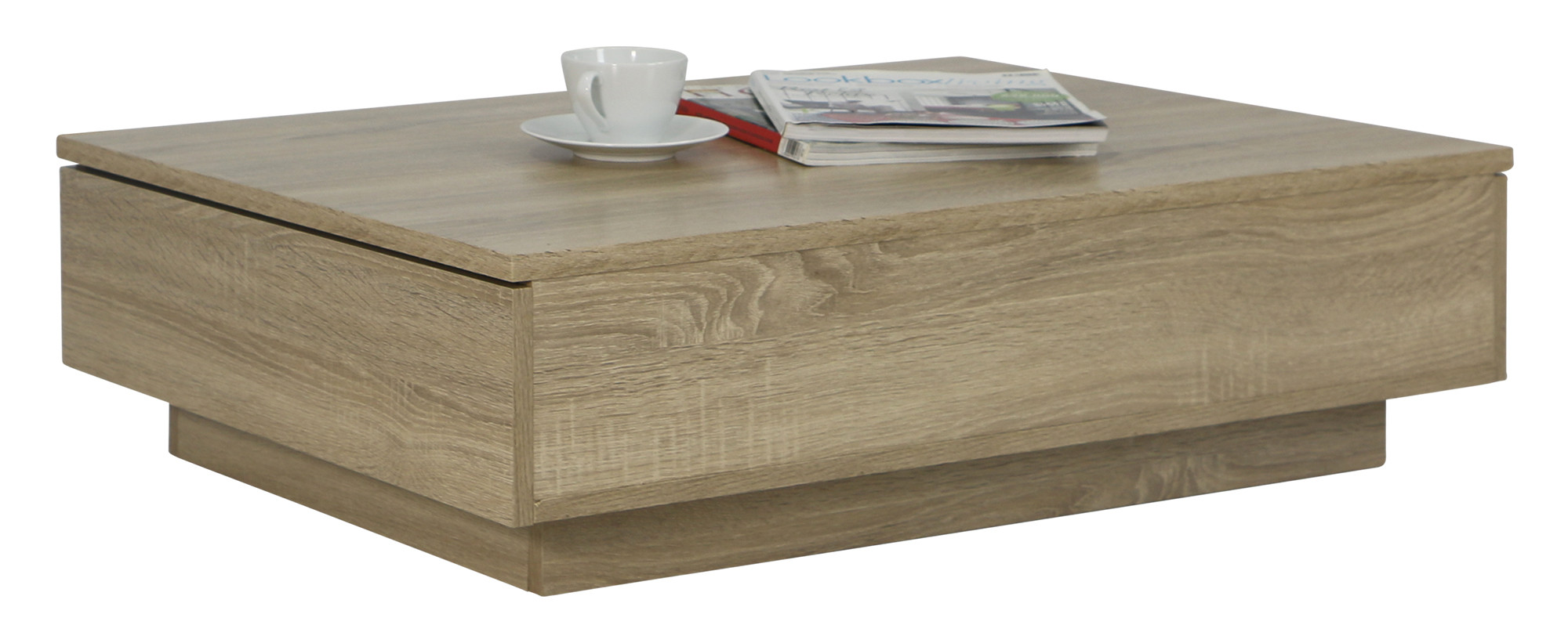 Avellino Low Coffee Table in Sonoma Oak - Coffee Tables - Living ...