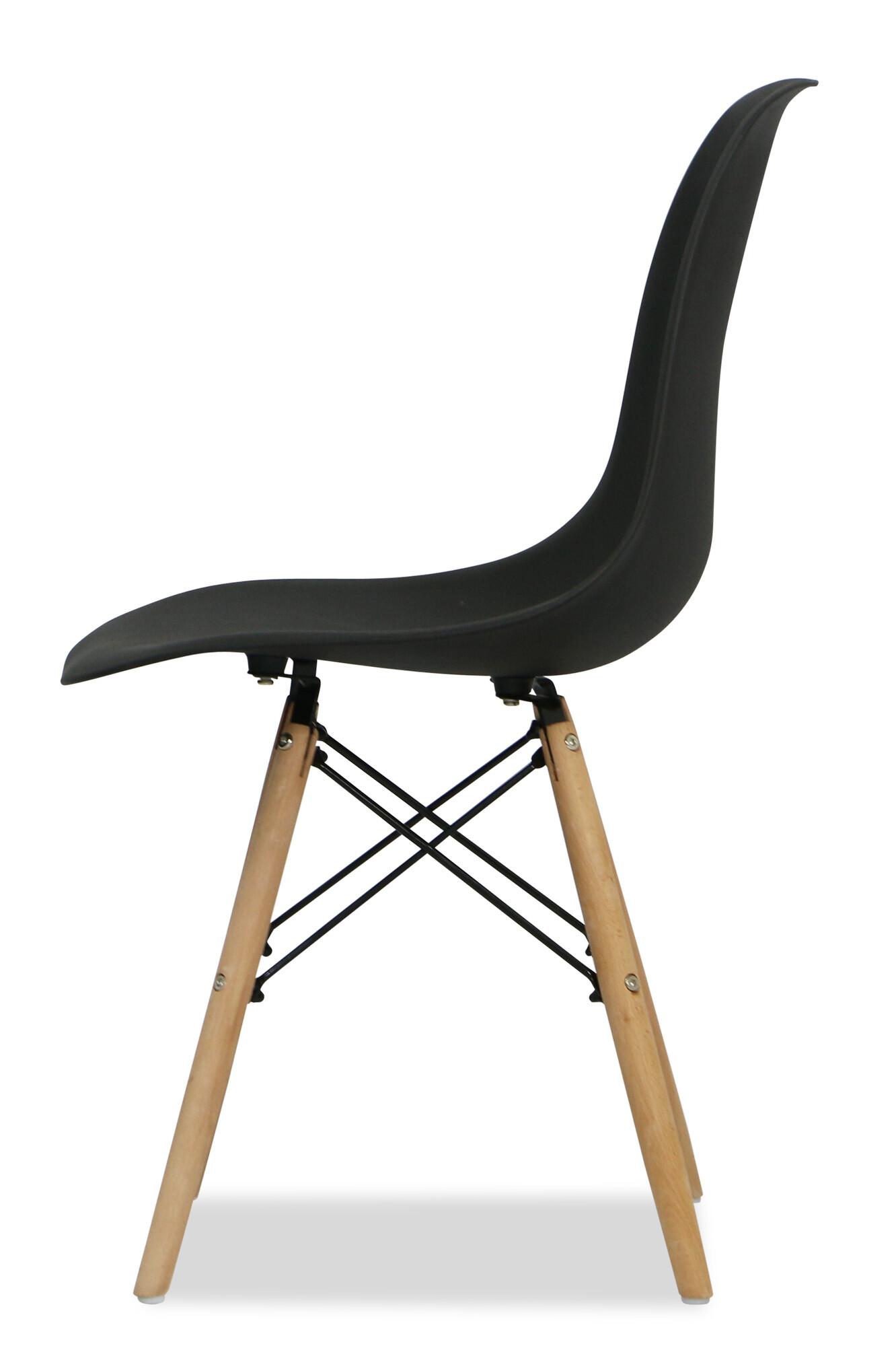 eames black replica designer chair dining room furniture. Black Bedroom Furniture Sets. Home Design Ideas