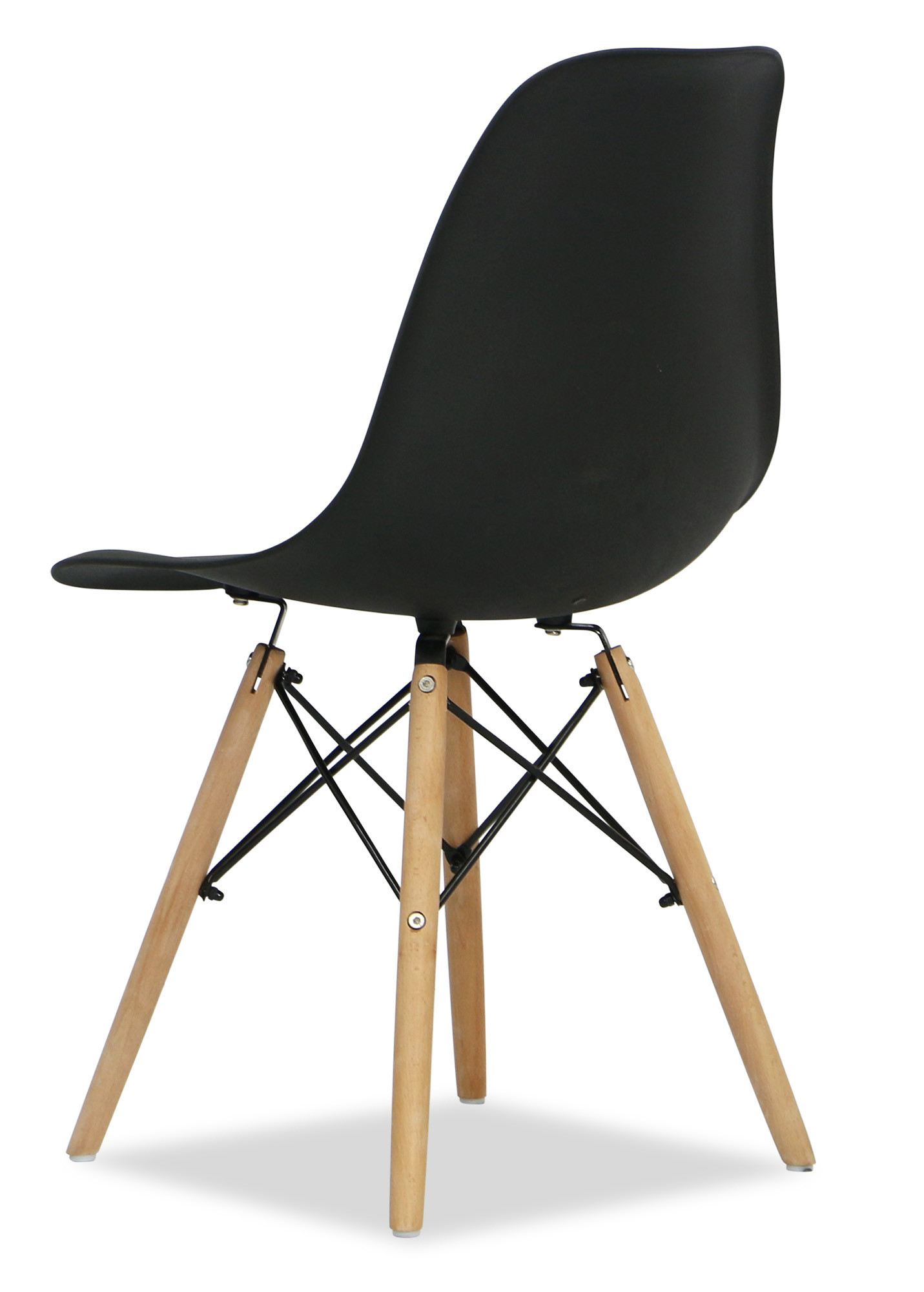 Eames black replica designer chair dining room furniture for Imitation designer chairs