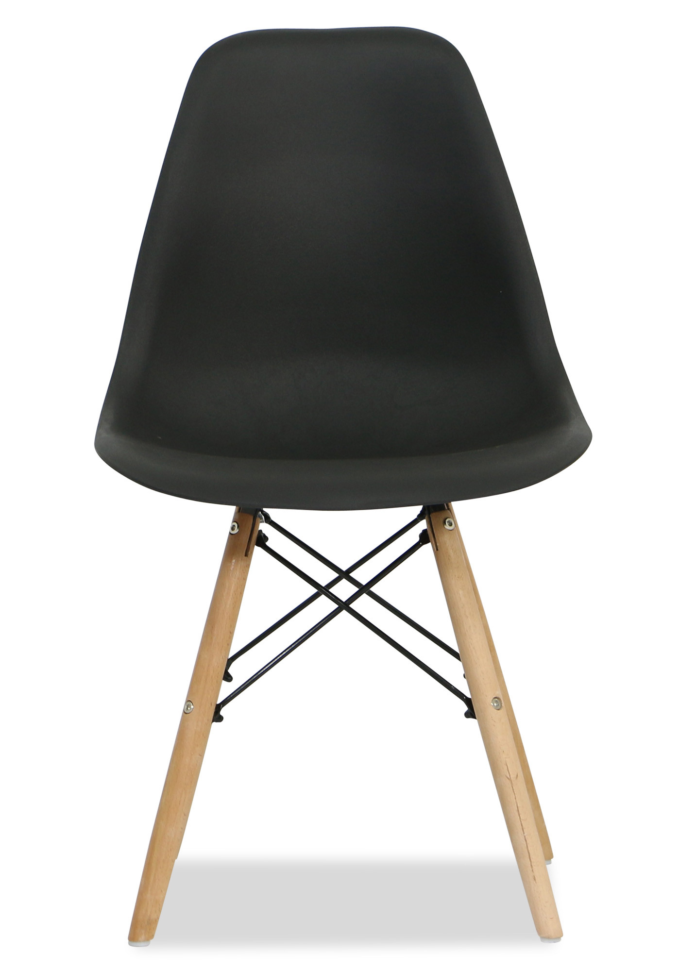 Eames black replica designer chair dining chairs for Dining room ideas eames