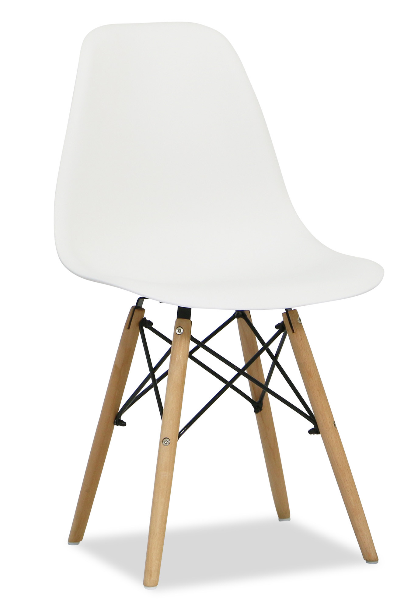 Eames white replica designer chair dining chairs for Imitation designer chairs