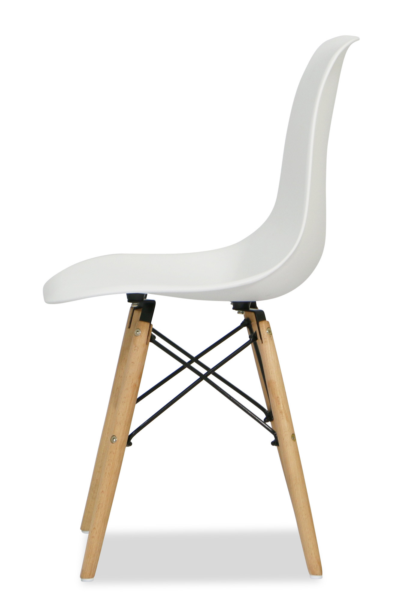 Eames white replica designer chair dining room furniture for Imitation designer chairs