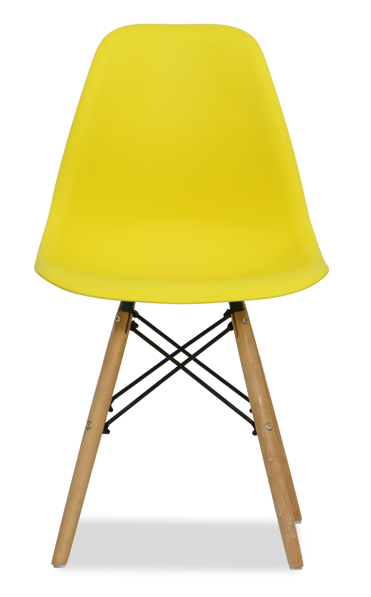 Eames yellow replica designer chair dining room for Imitation designer chairs