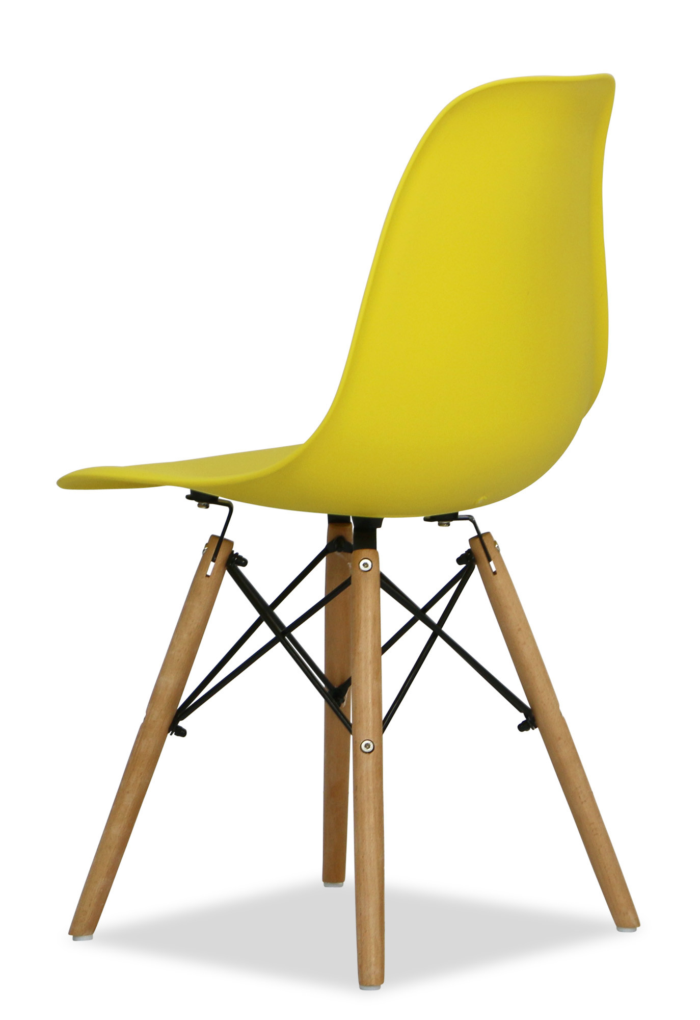 Eames yellow replica designer chair dining room for Designer furniture replica malaysia