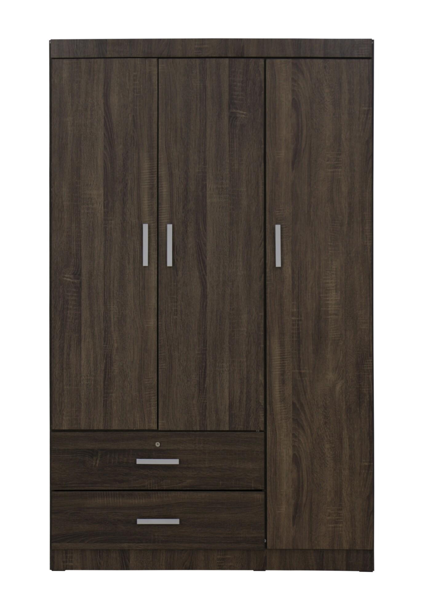 Charmant Elifel 3 Door Wardrobe In Walnut