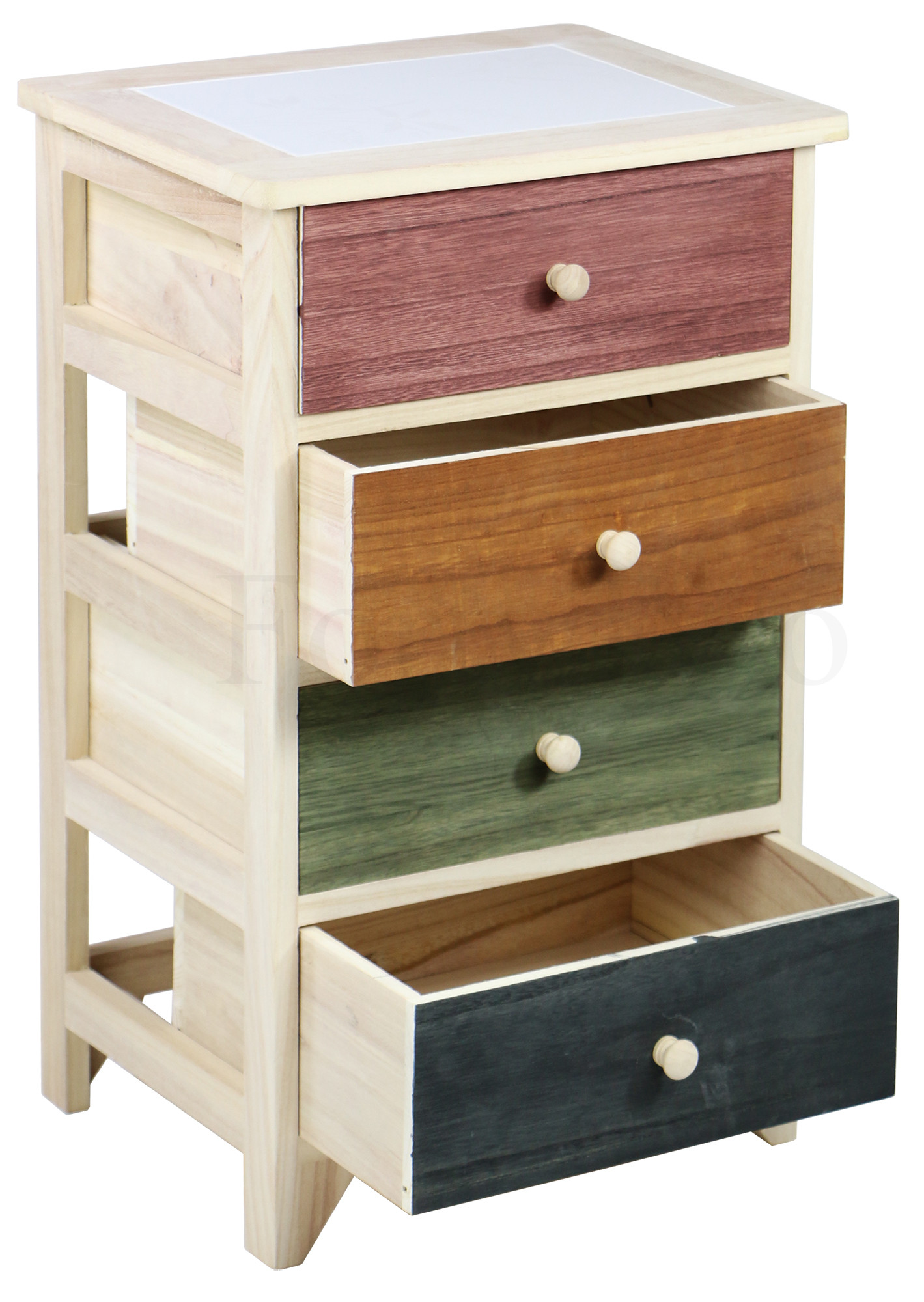 shabby chic 4 drawer hand crafted cabinet furniture home d cor fortytwo. Black Bedroom Furniture Sets. Home Design Ideas