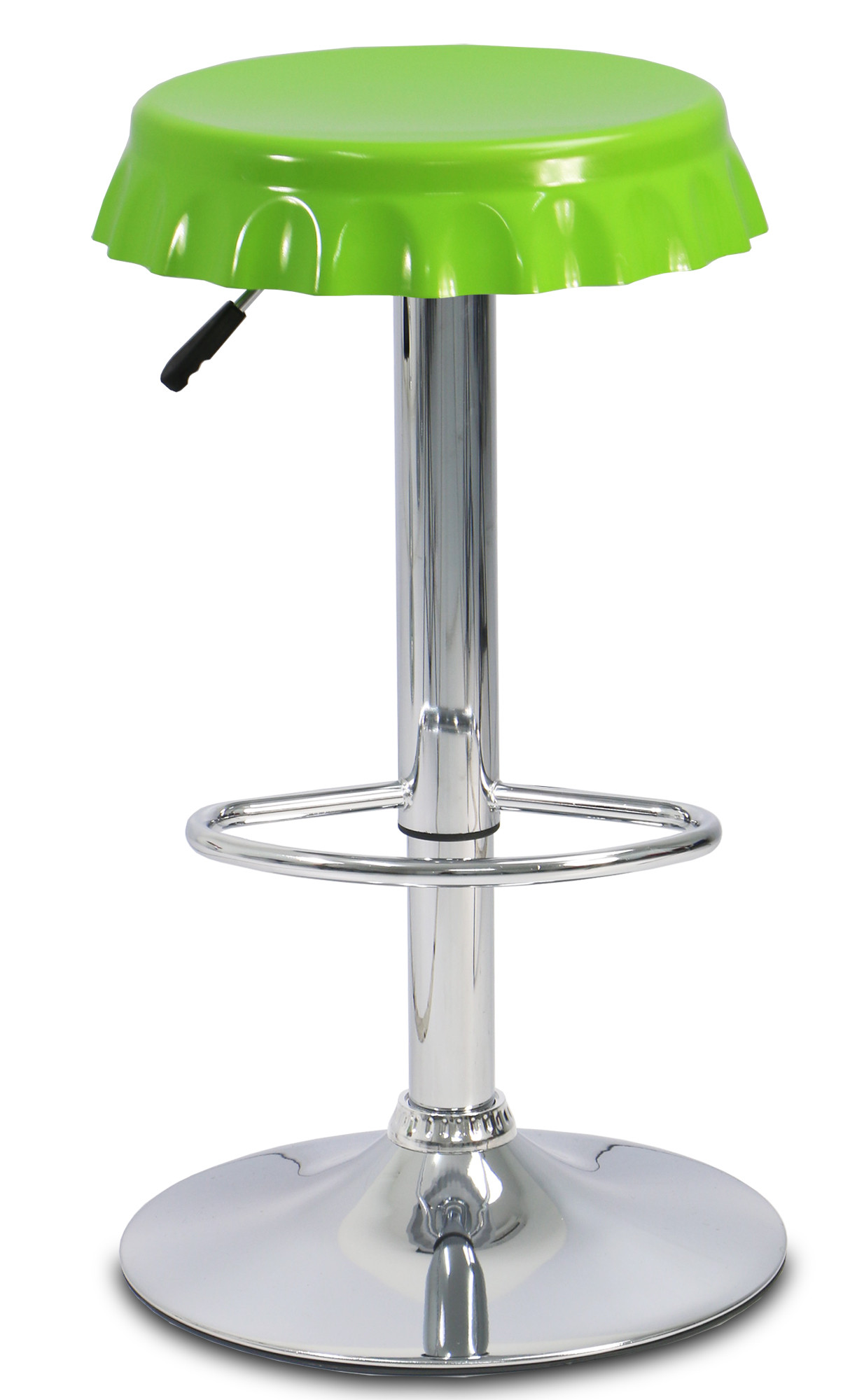 Bottle cap bar stool green display gallery item 1 display gallery item 2