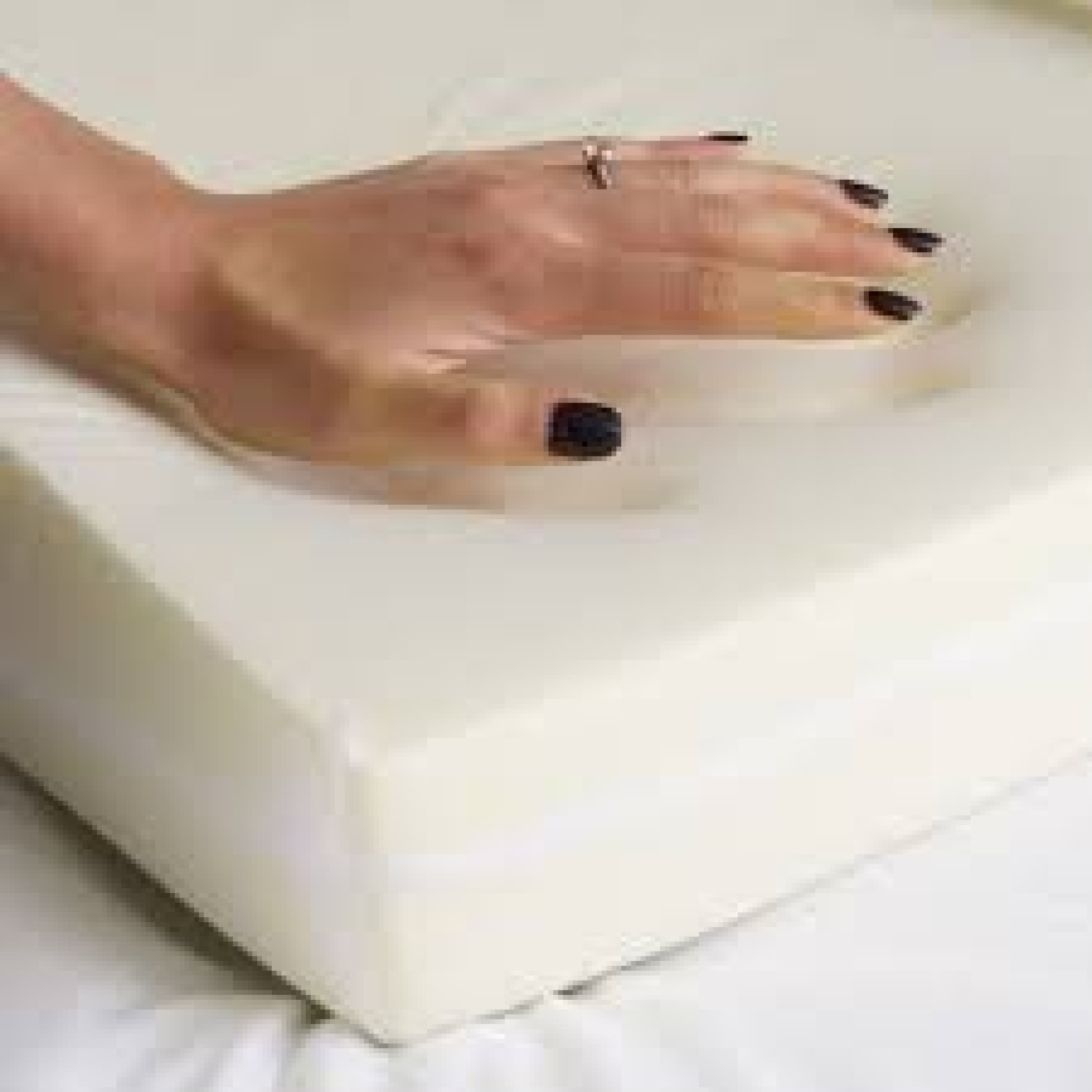 Sleepthetic Fitted Memory Foam Topper Single 2 Inch Thick