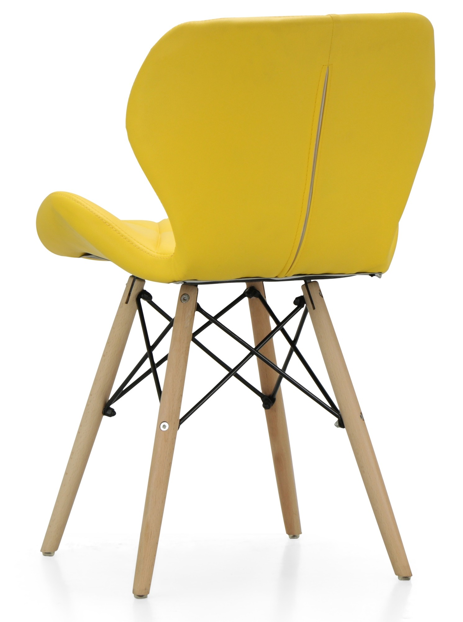 Hideki replica designer chair yellow designer chairs for Designer sofa replica