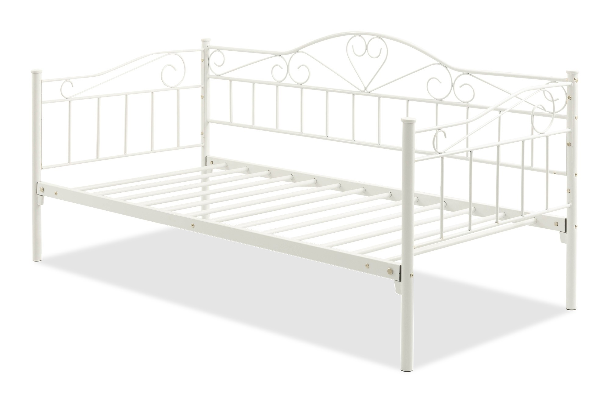 - Nora Metal Daybed Frame Single (White) Furniture & Home Décor