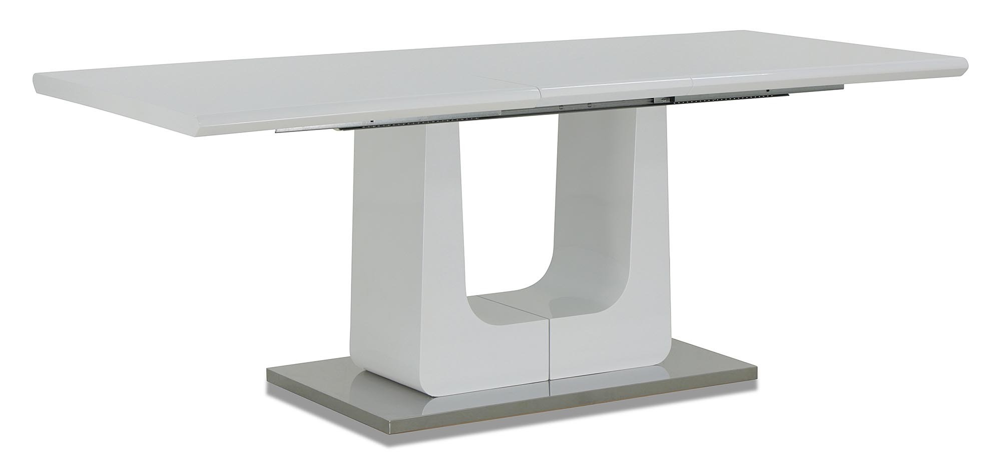 Dorian extendable dining table white