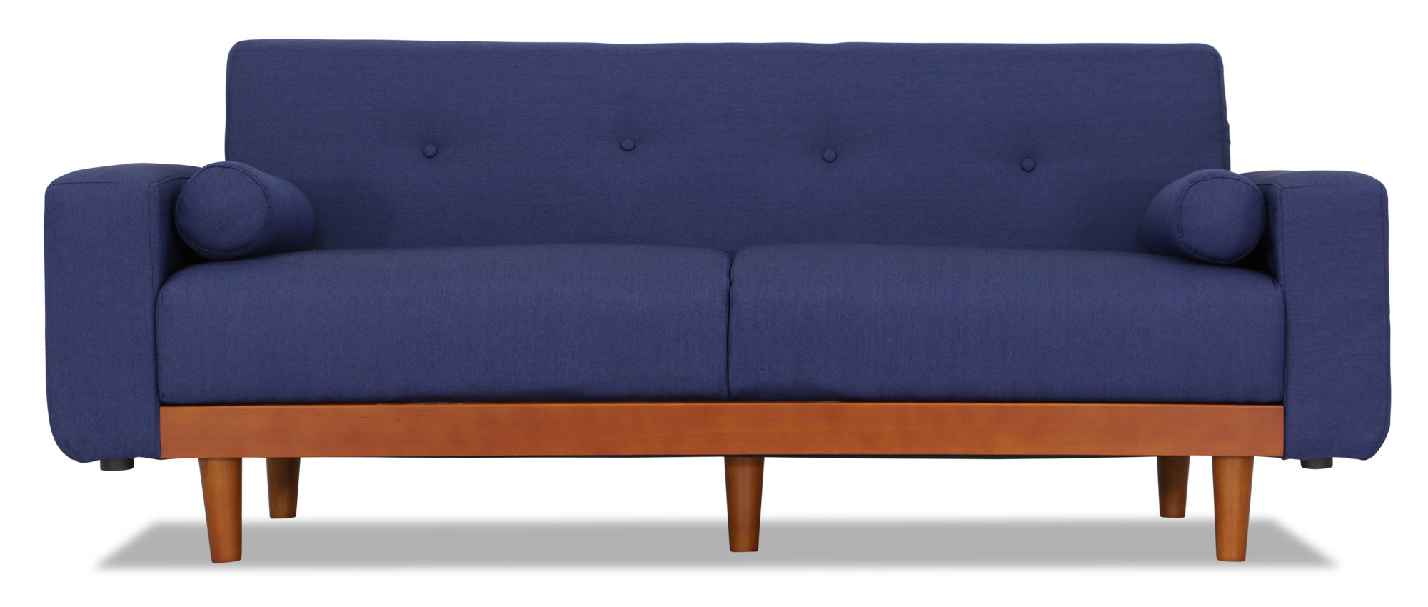 Miyako 3 seater sofa blue furniture home d cor fortytwo for Sofa 6 seater