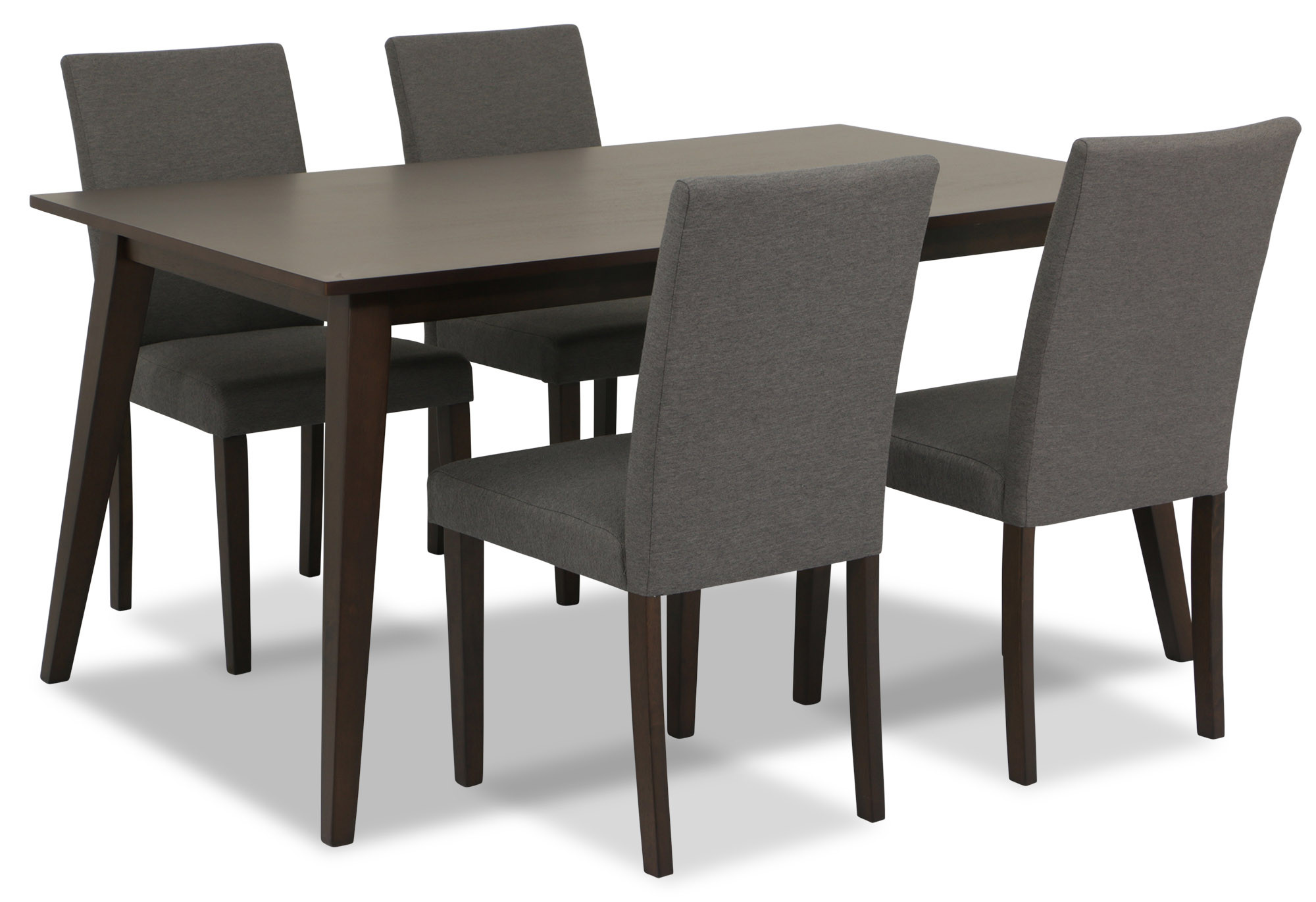 Libby Dining Table Set Wenge 1 6 Furniture Home Decor Fortytwo