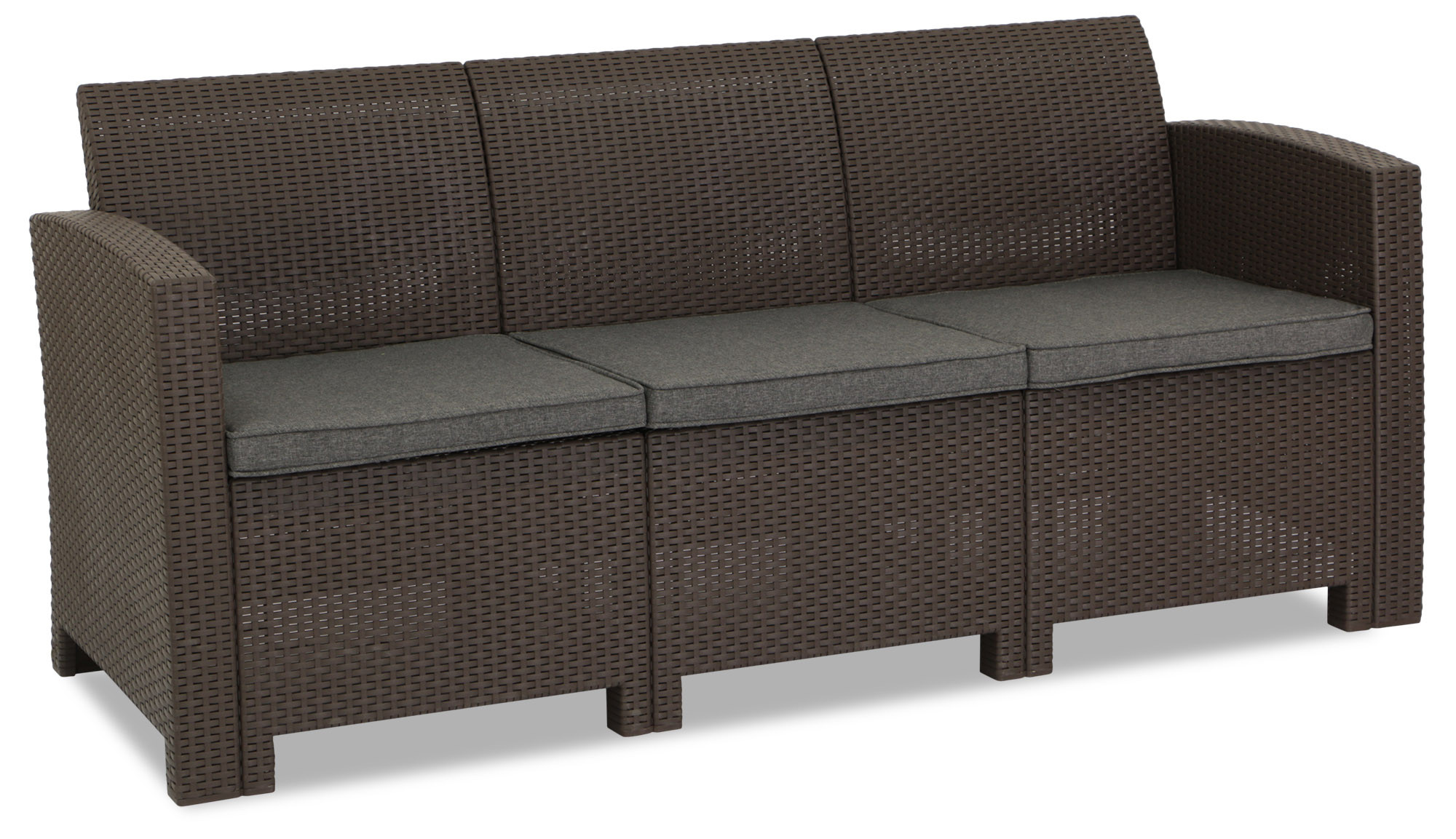 Nina 3 Seater Sofa Brown
