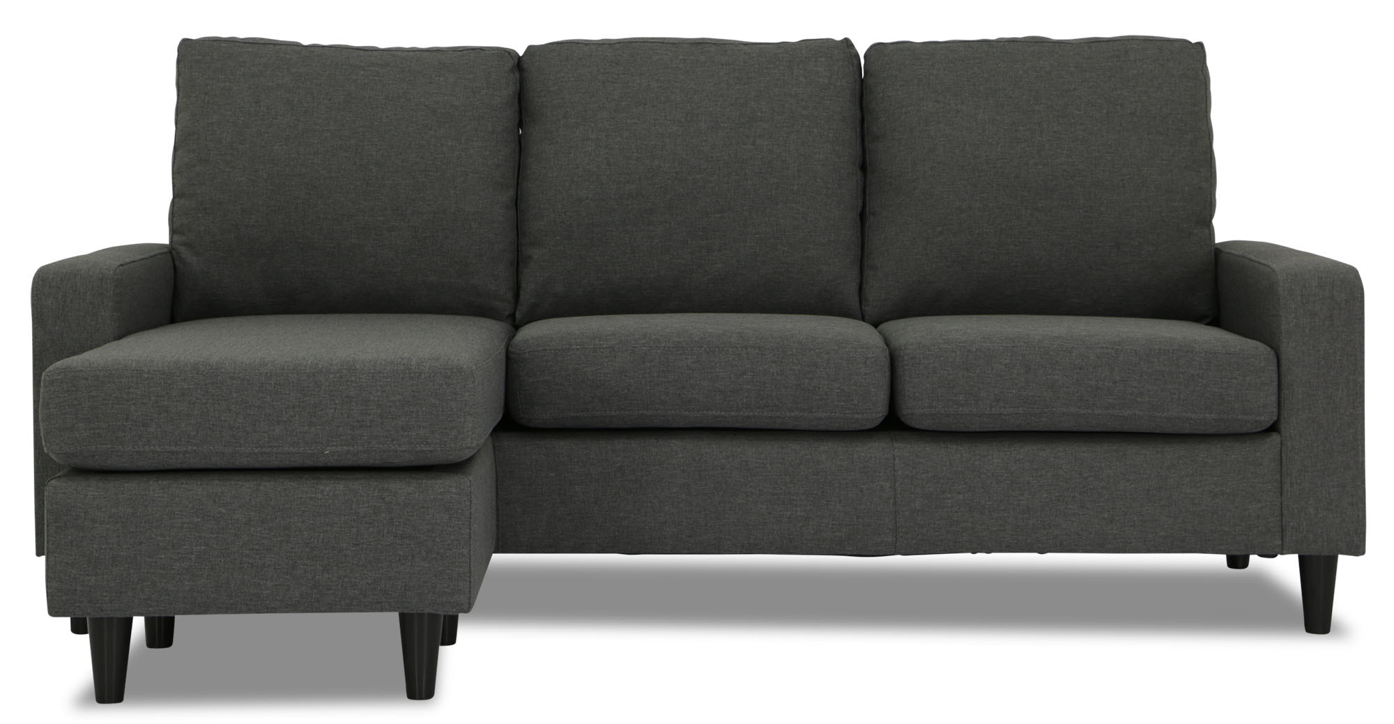 Ejiro L Shape Sofa in Grey Furniture & Home Décor