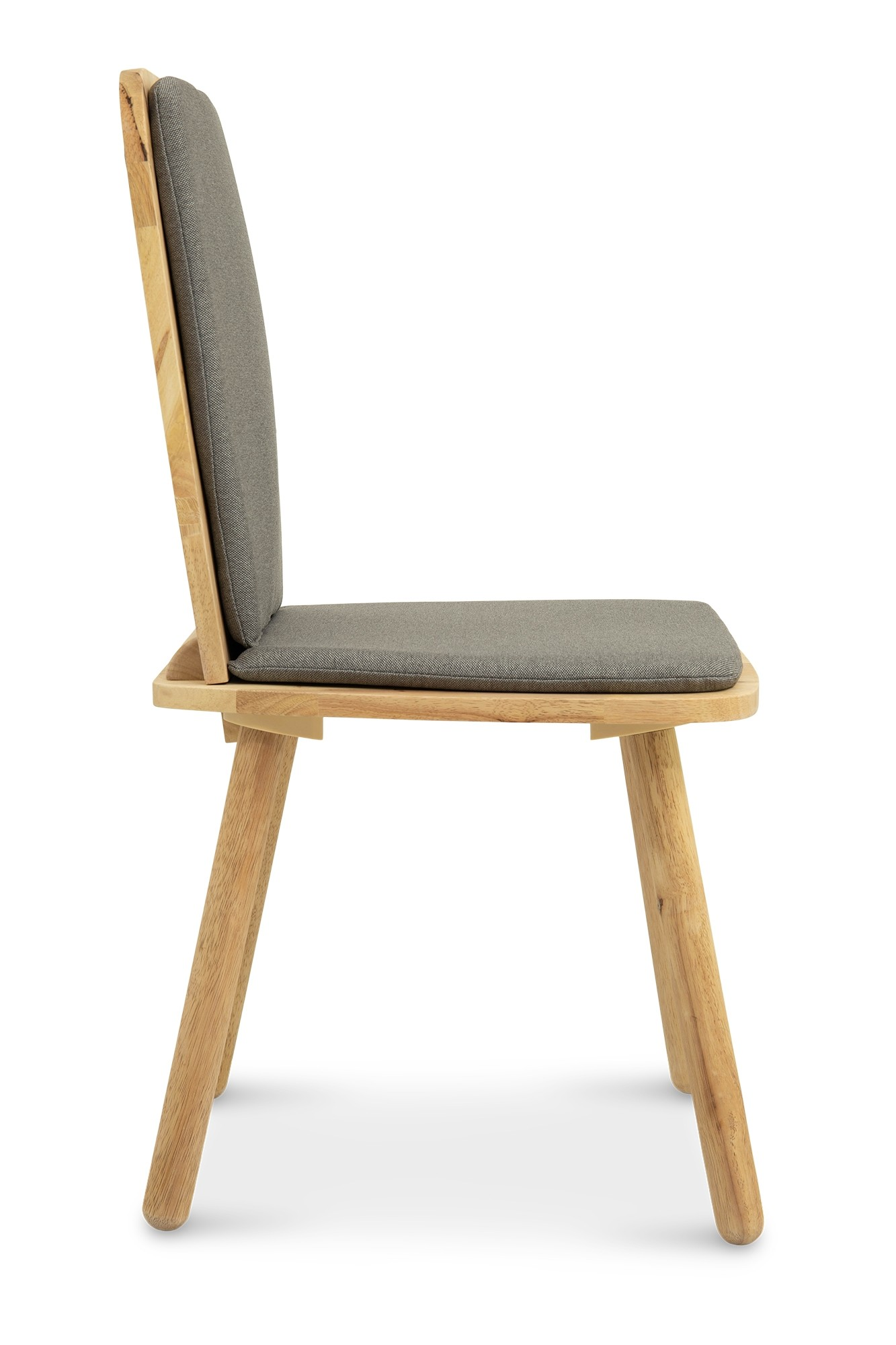 Klover Dining Chair Grey Furniture