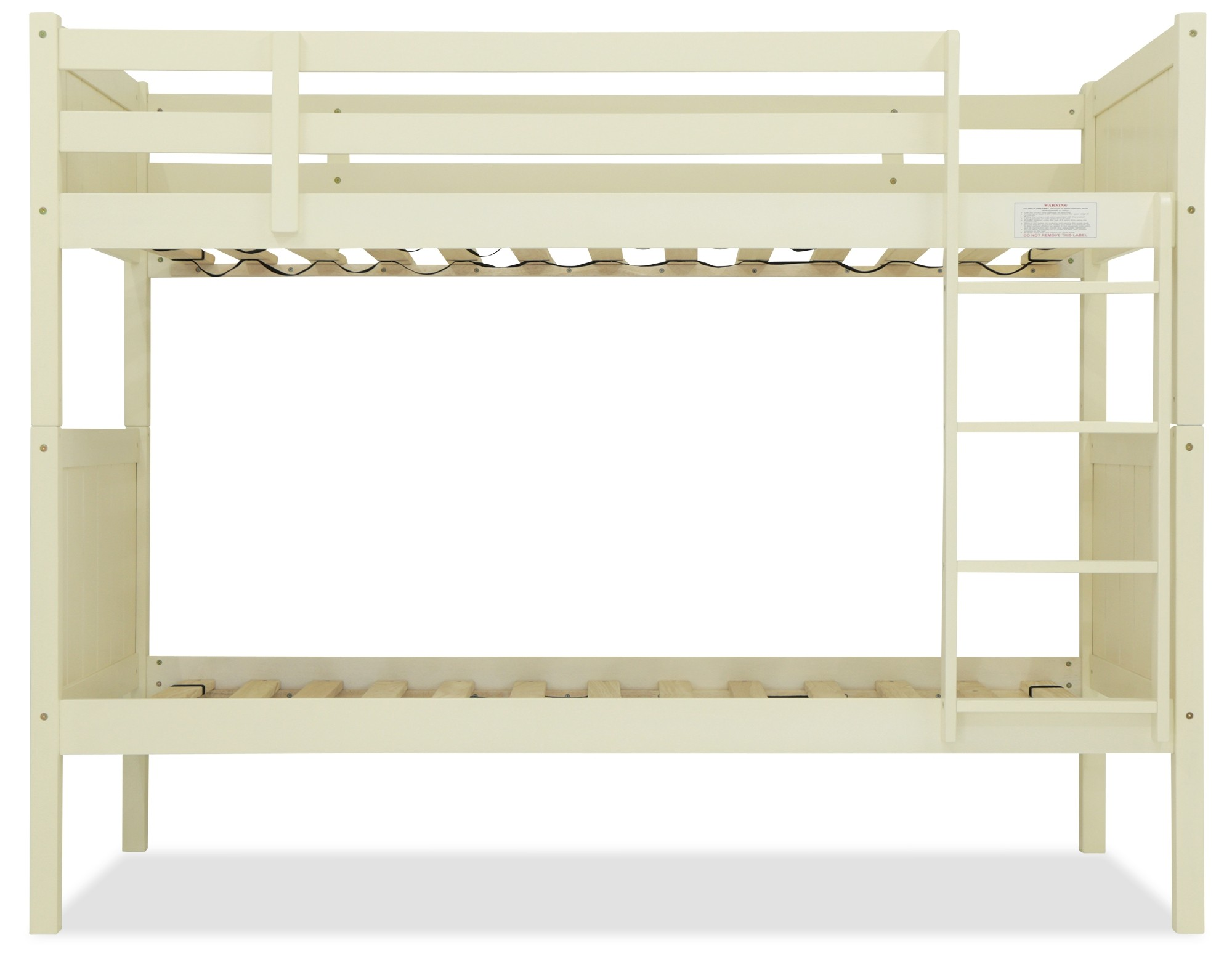 Rio Wooden Bunk Bed Antique White Furniture Home Decor Fortytwo