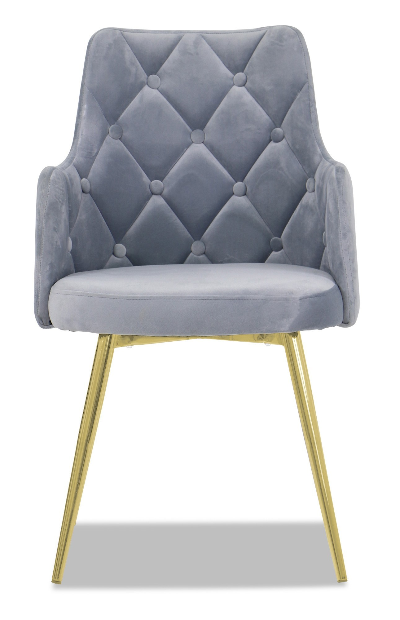 Laurie Chair With Gold Legs Grey Furniture Amp Home