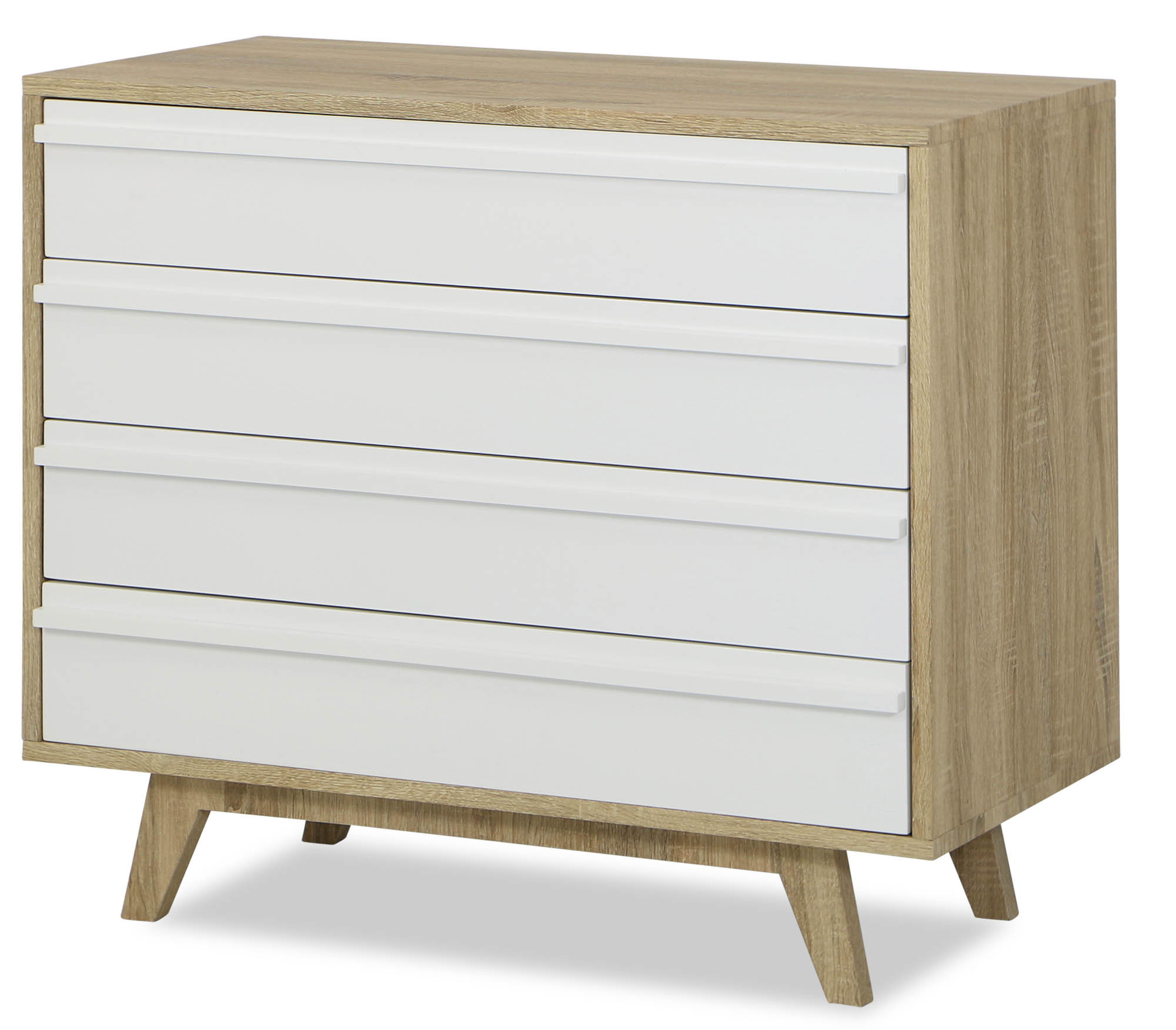 wide painted drawers over products of chest portland and long furniture oak drawer