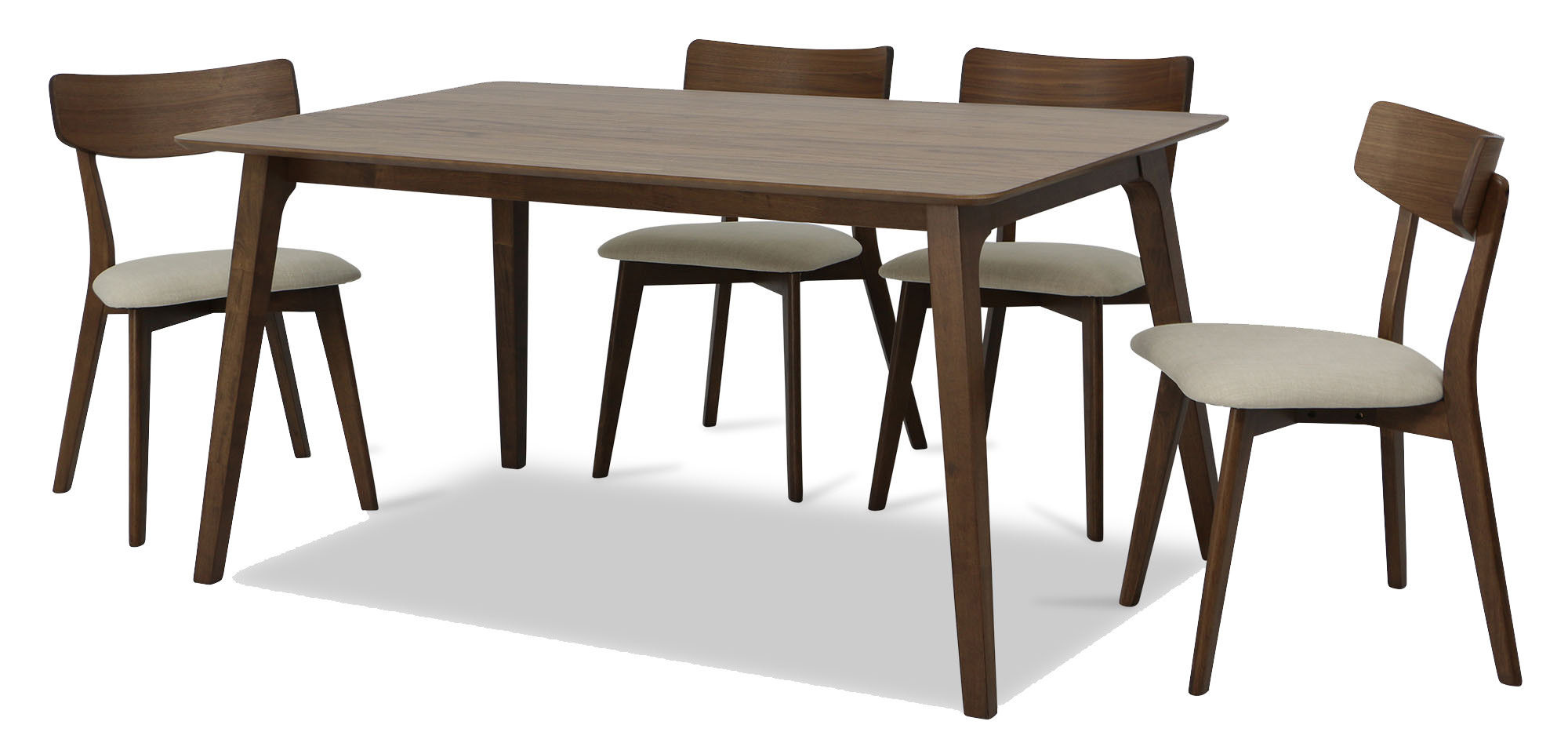 Loto dining table set c 1 4 dining sets dining room for 4 dining room table