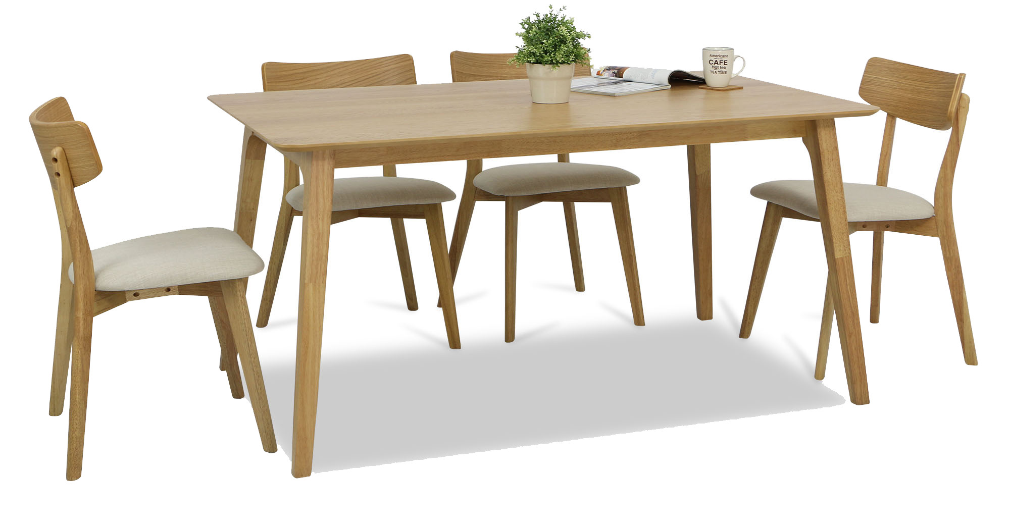 Loto Dining Table Set A 1 4 Furniture Home Decor Fortytwo