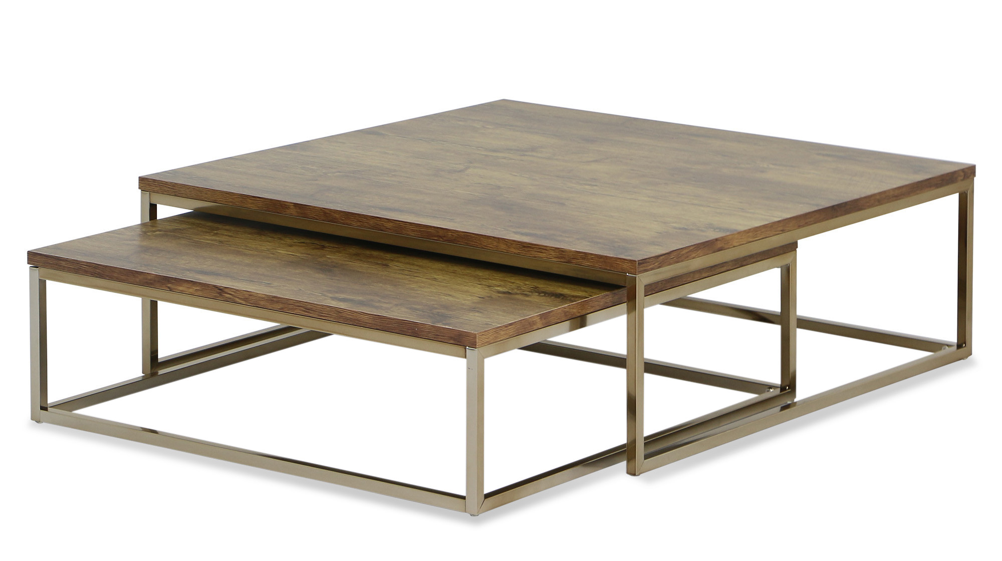furniture coffee tables. Maurizio 2pc Nesting Table Set In Rosegold Furniture Coffee Tables