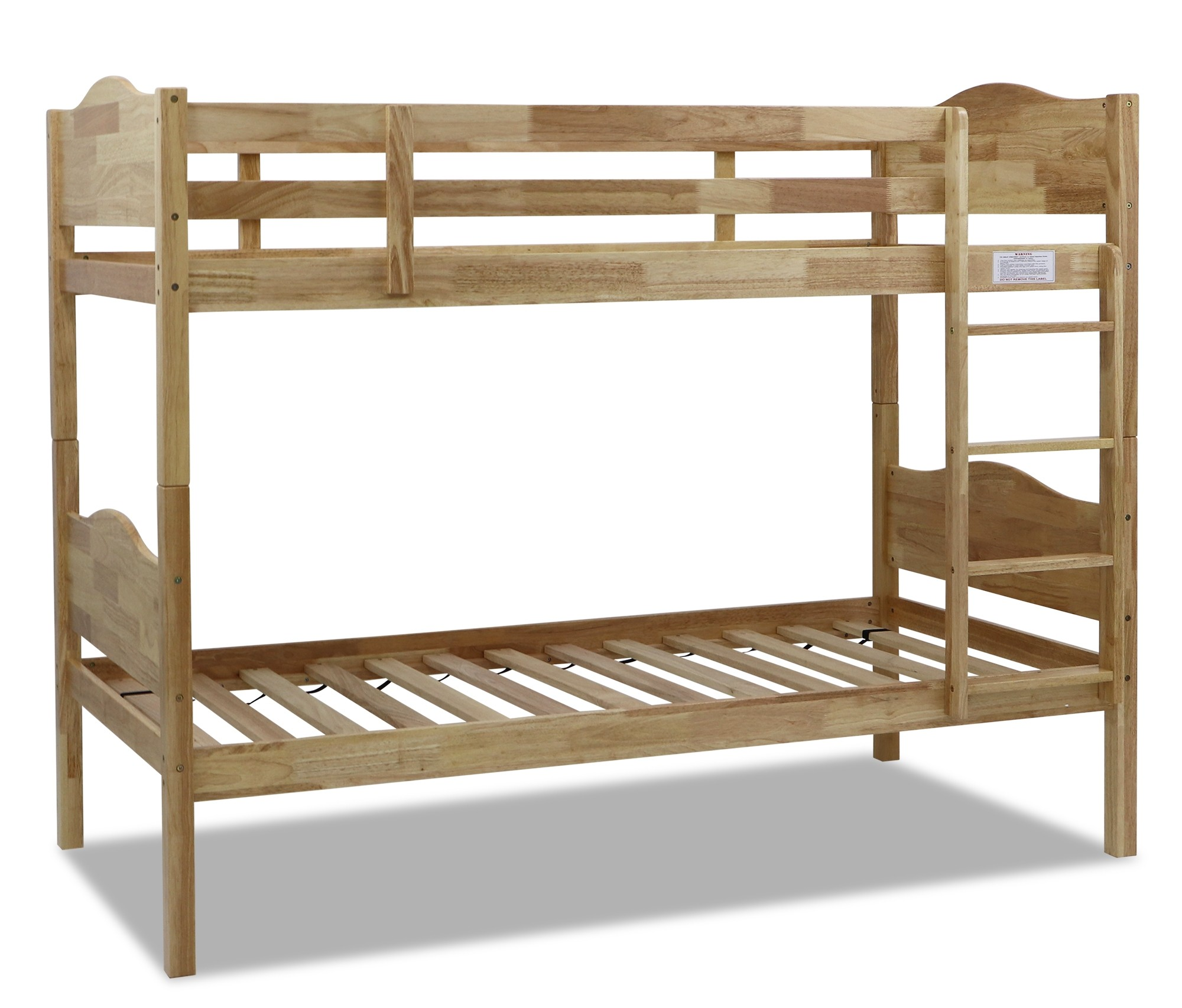 Montana Wooden Bunk Bed Natural Furniture Home Decor Fortytwo