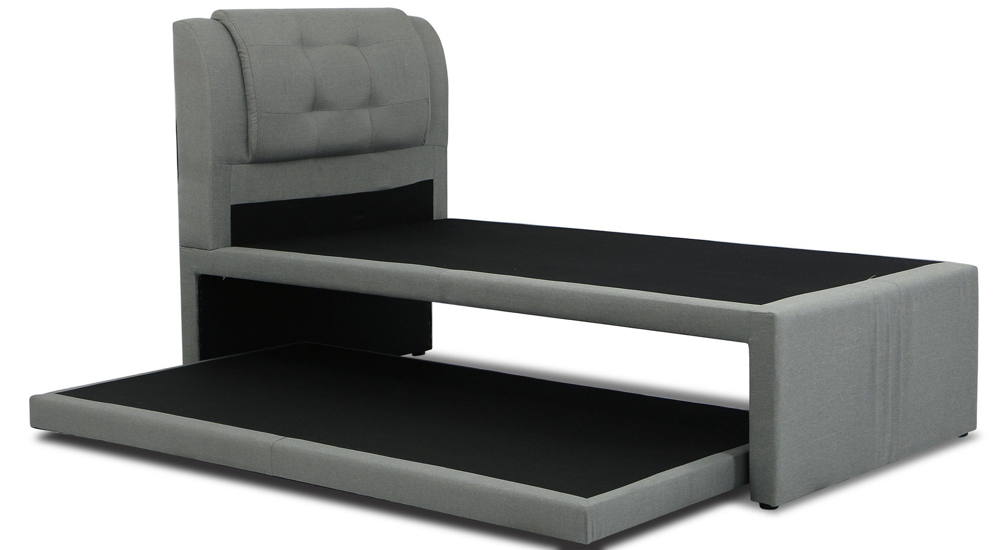 Neak Fabric 2 In 1 Bed Frame Single Sized Furniture Home Décor Fortytwo