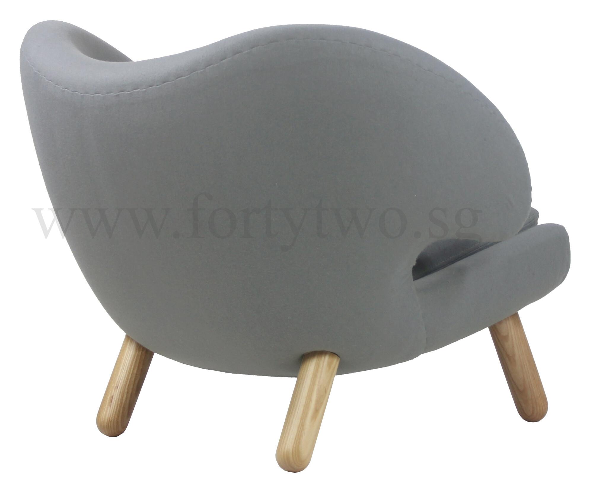 Designer Replica Pelican Chair in Light Grey | Furniture & Home ...