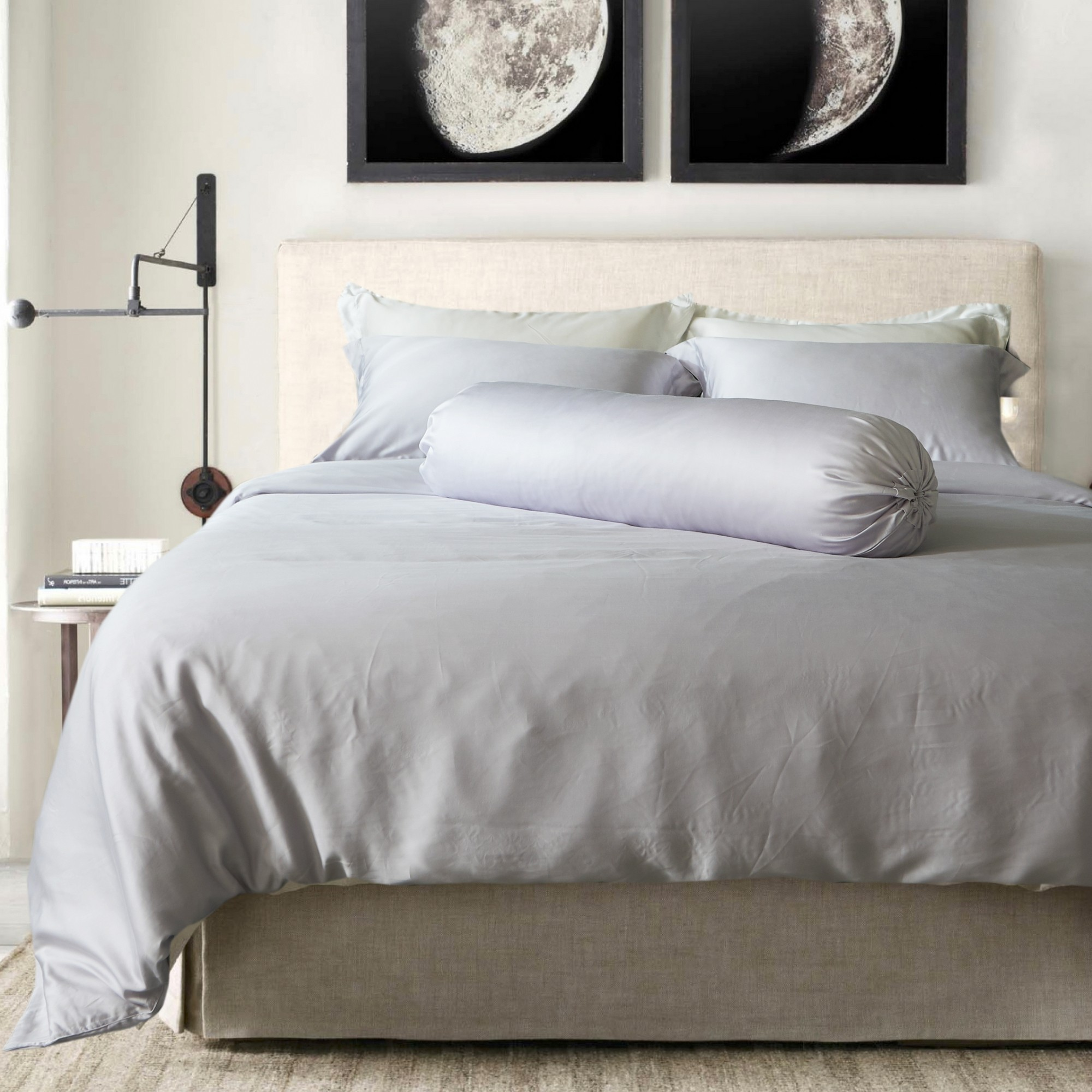 size grey flannelette duvet pin set cover innsbruck dream king